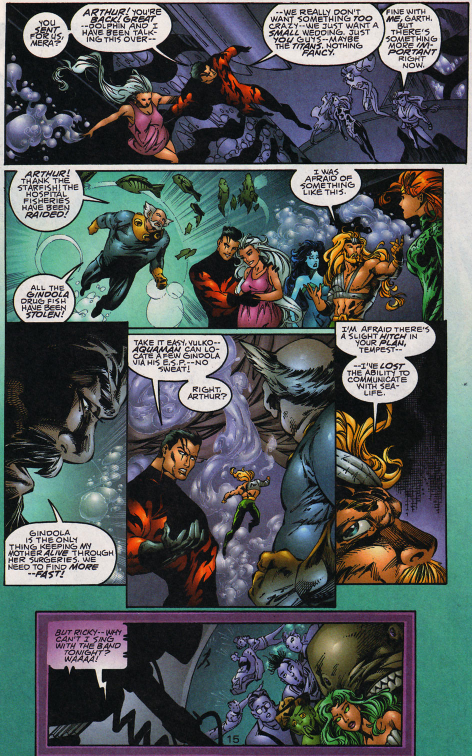 Aquaman (1994) Issue #59 #65 - English 16
