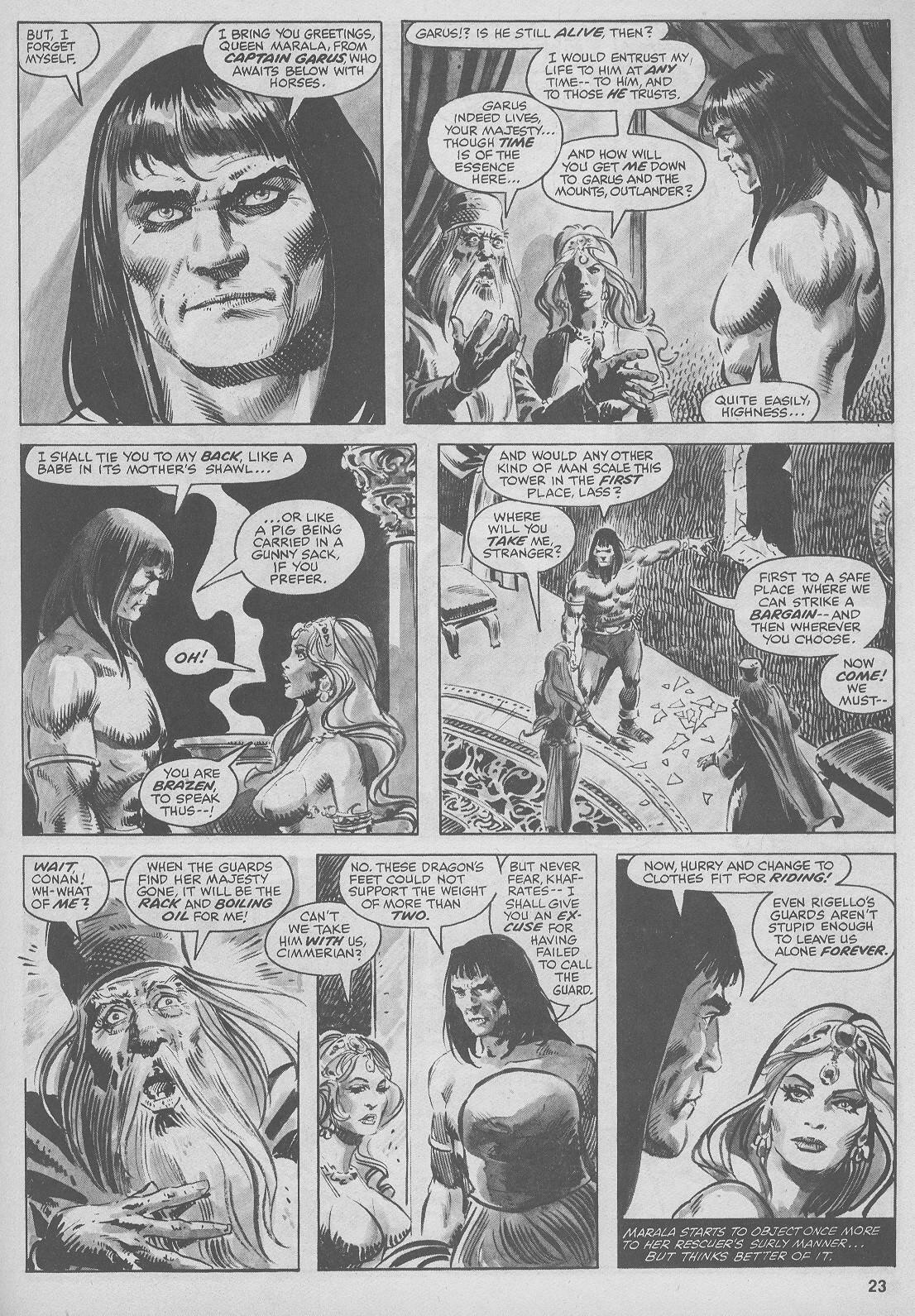 The Savage Sword Of Conan Issue #44 #45 - English 23