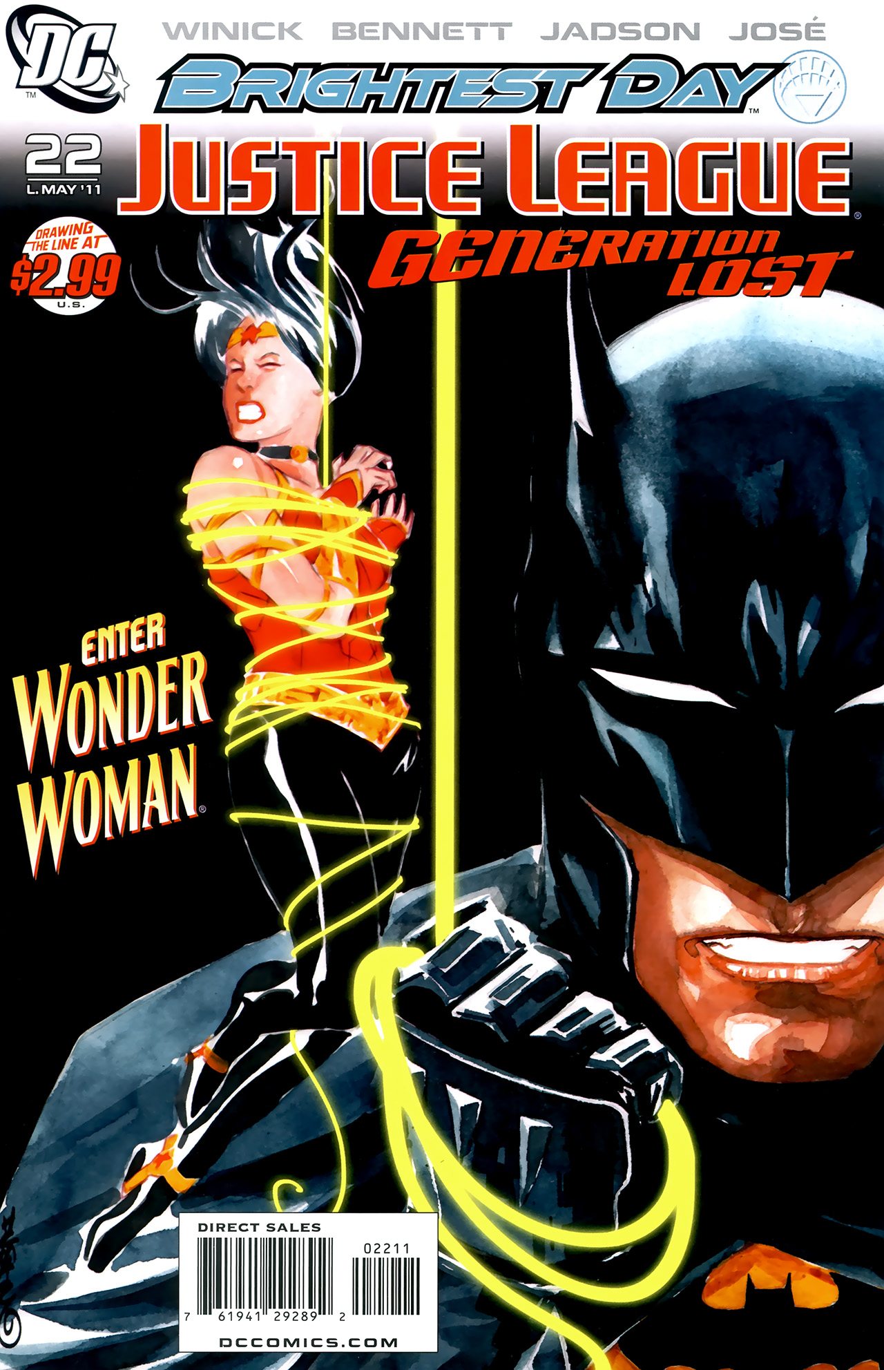 Read online Justice League: Generation Lost comic -  Issue #22 - 1