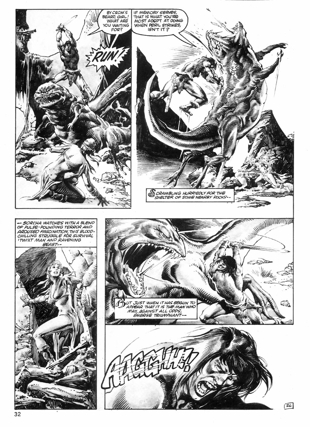 The Savage Sword Of Conan Issue #98 #99 - English 32