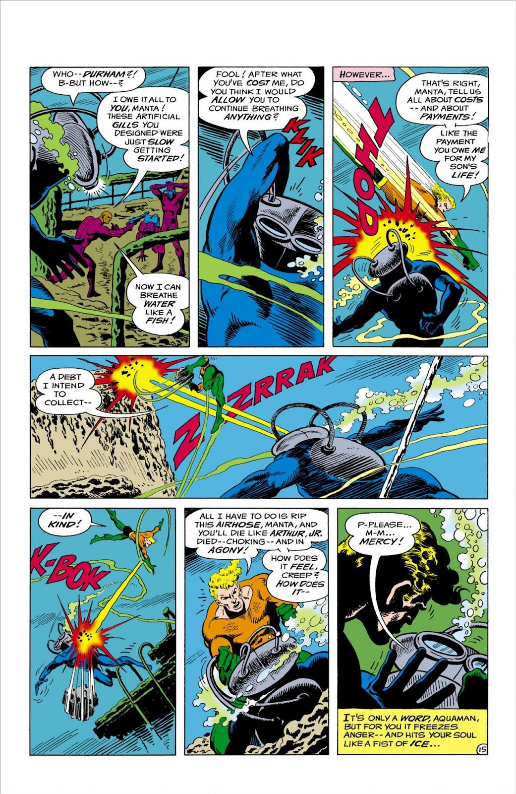 Aquaman (1962) Issue #57 #57 - English 16