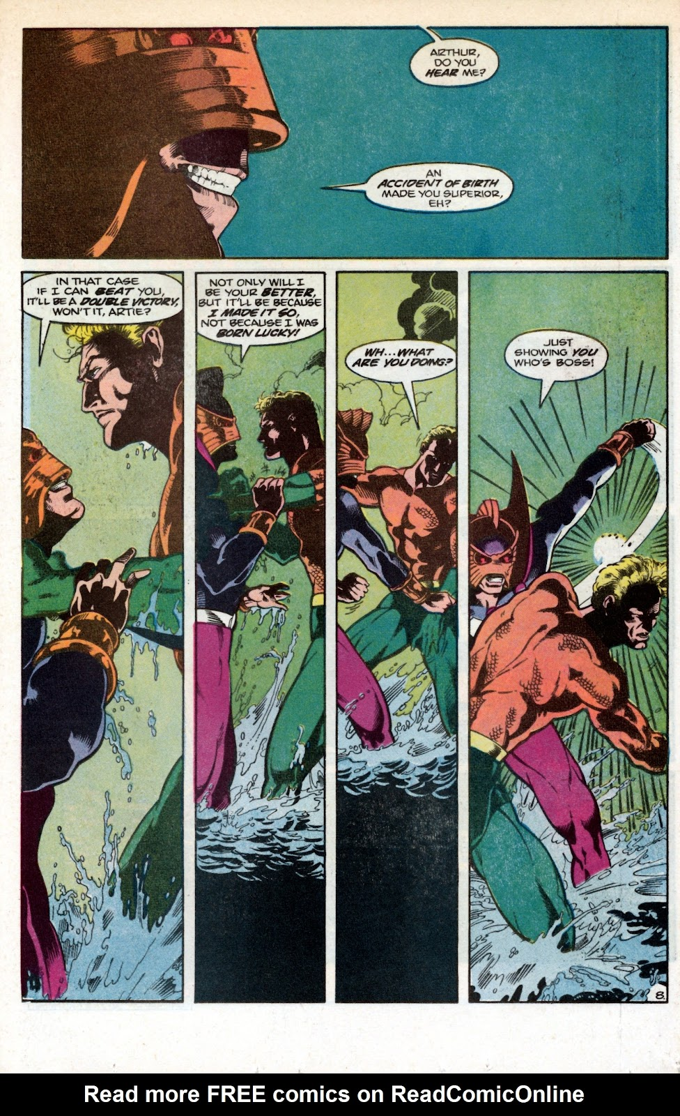 Aquaman (1986) Issue #1 #1 - English 10