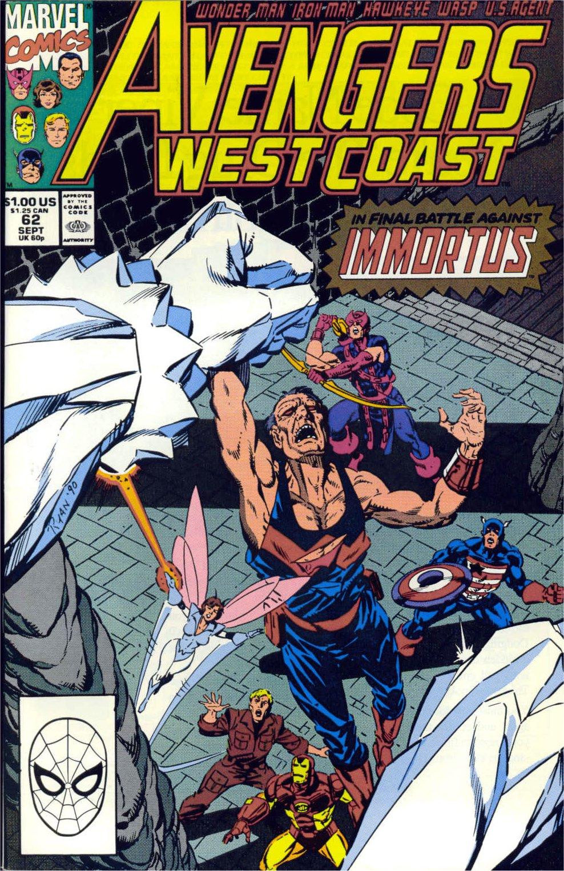 Avengers West Coast (1989) 62 Page 1