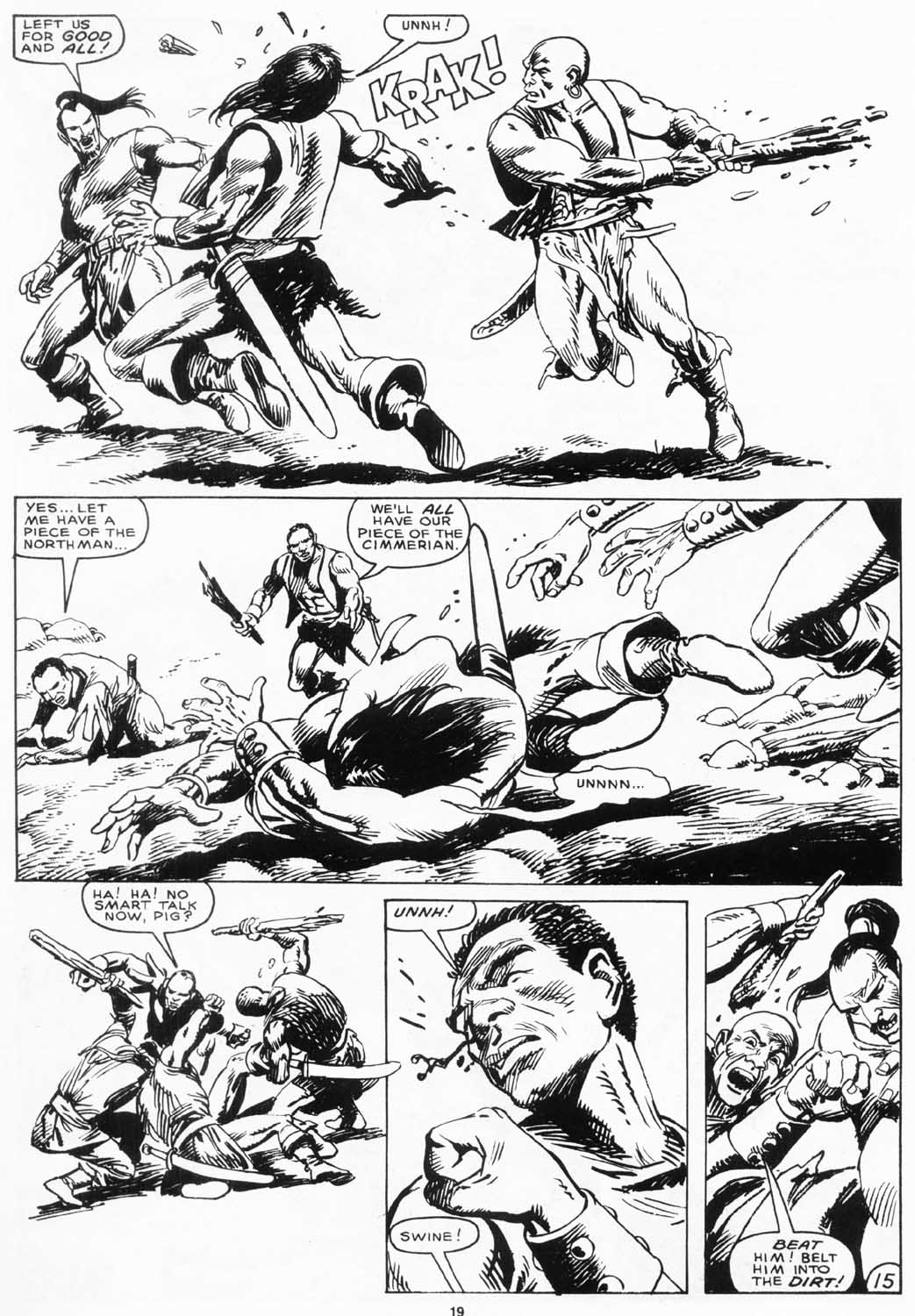 The Savage Sword Of Conan Issue #156 #157 - English 20