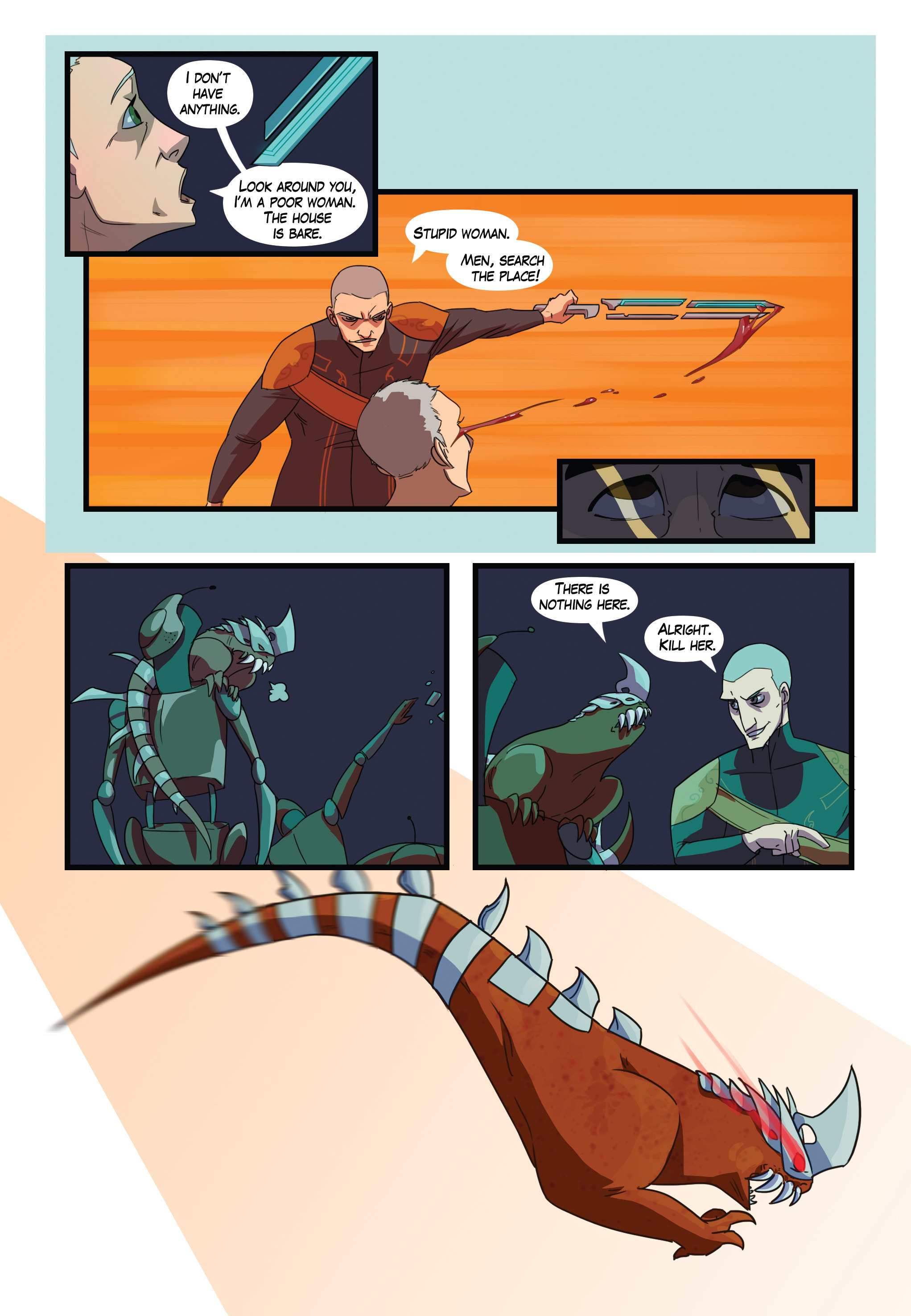Read online Scavenger comic -  Issue #1 - 21