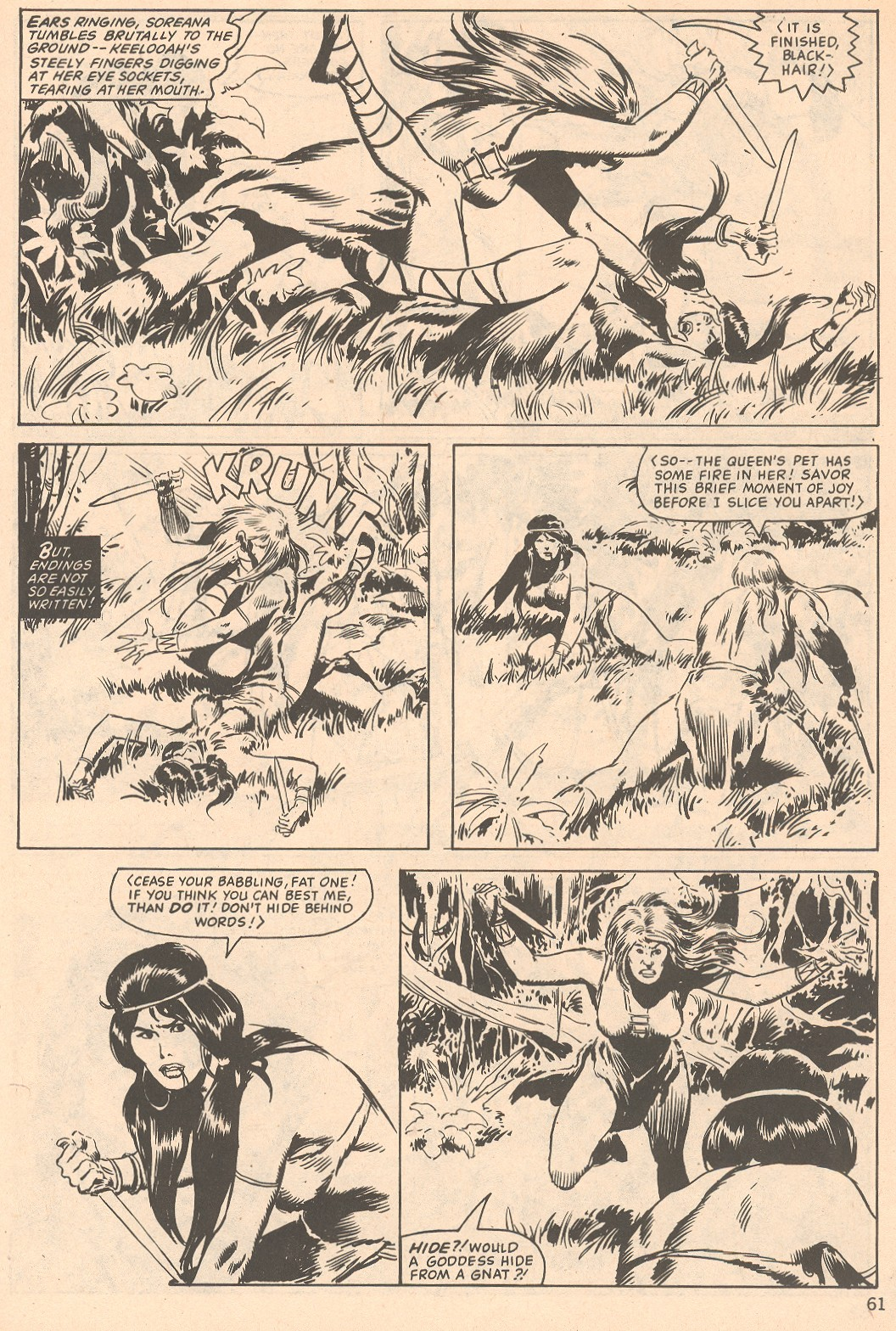 The Savage Sword Of Conan Issue #66 #67 - English 61