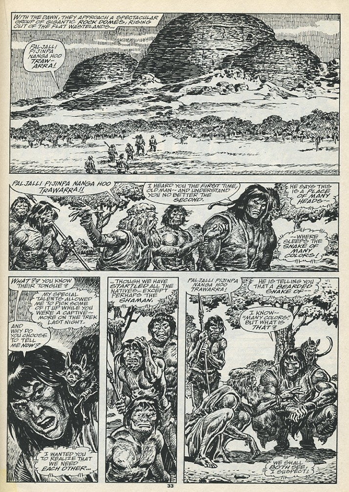 The Savage Sword Of Conan Issue #193 #194 - English 35