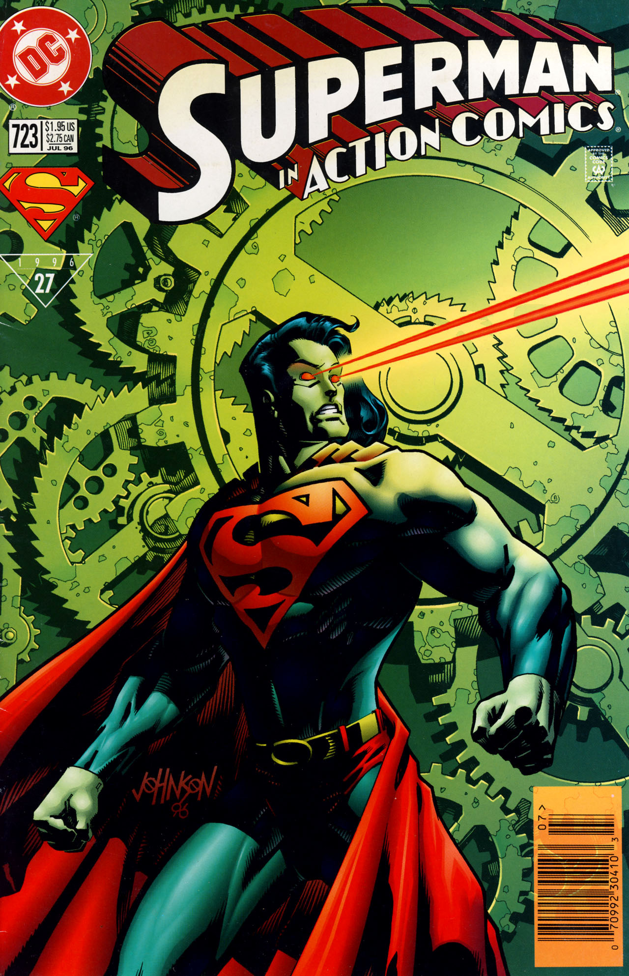 Action Comics (1938) 723 Page 1