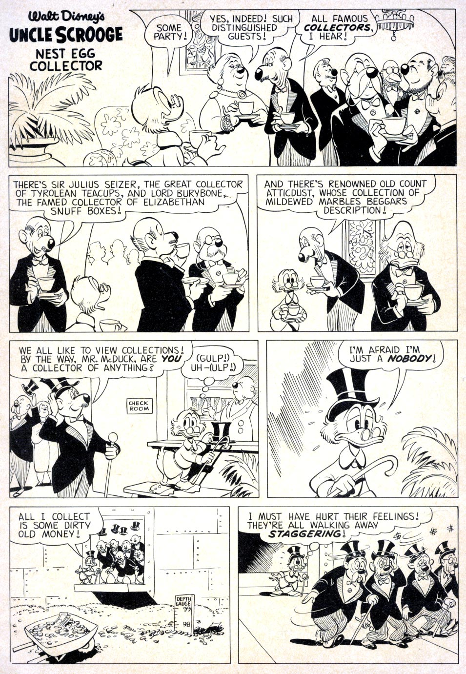 Uncle Scrooge (1953) Issue #39 #39 - English 34