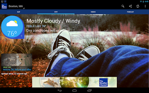 The Weather Channel Apk v4.2.0 Mod