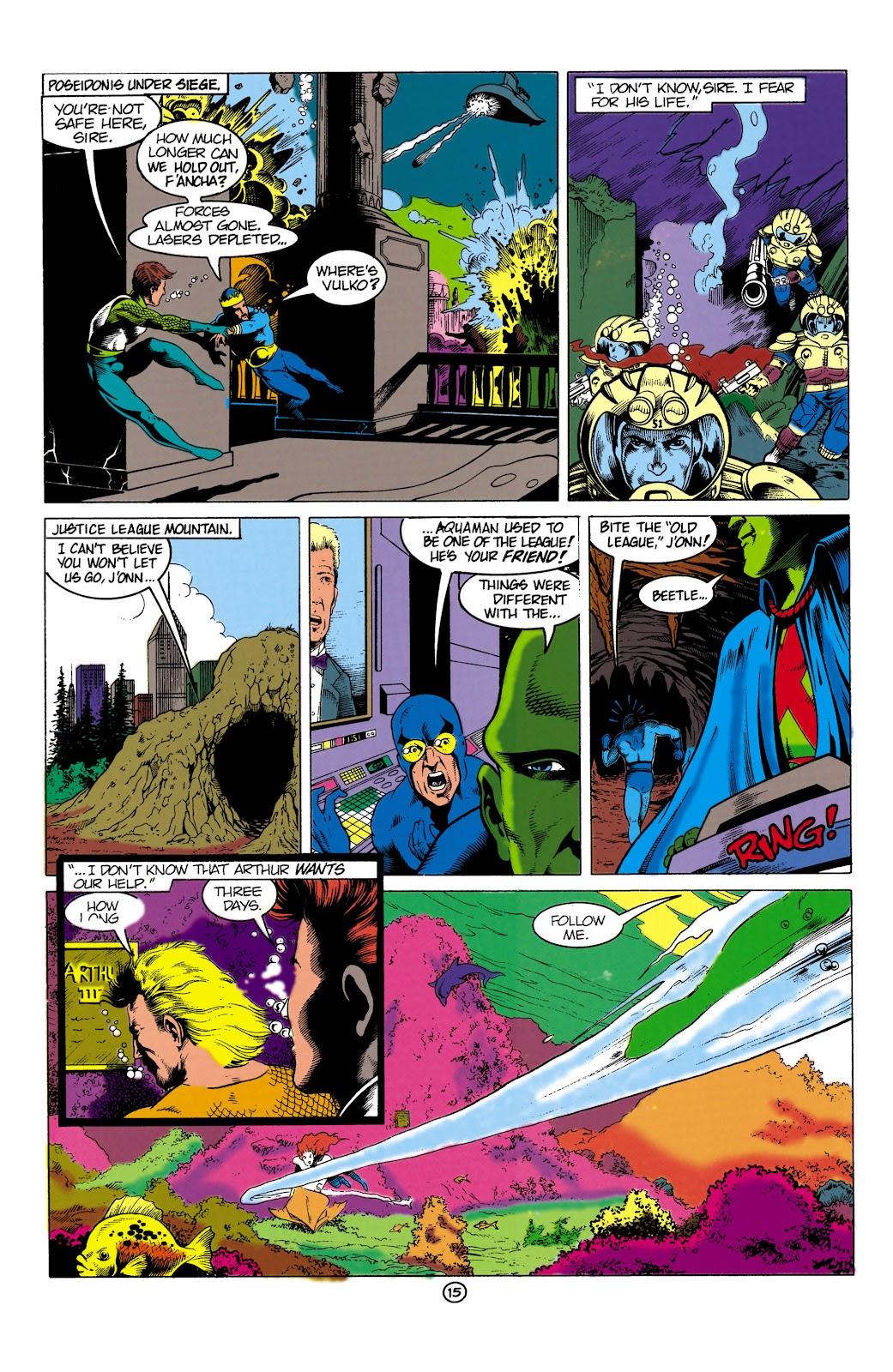 Aquaman (1991) Issue #1 #1 - English 15