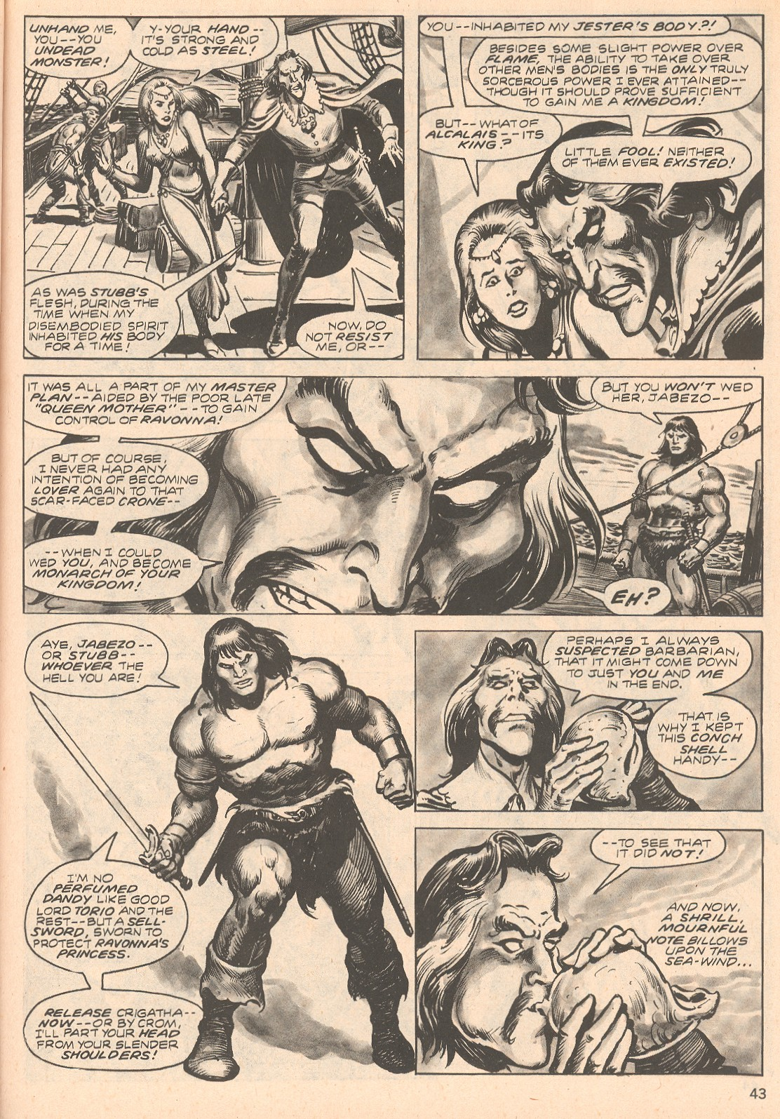 The Savage Sword Of Conan Issue #66 #67 - English 43