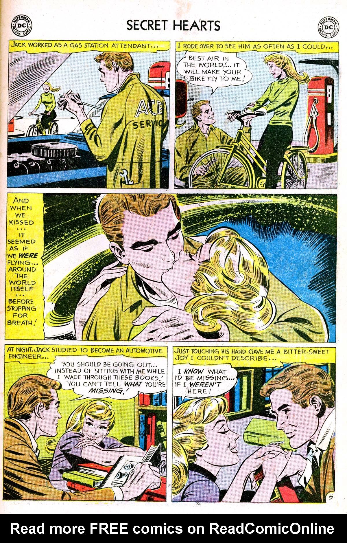 Read online Secret Hearts comic -  Issue #85 - 31