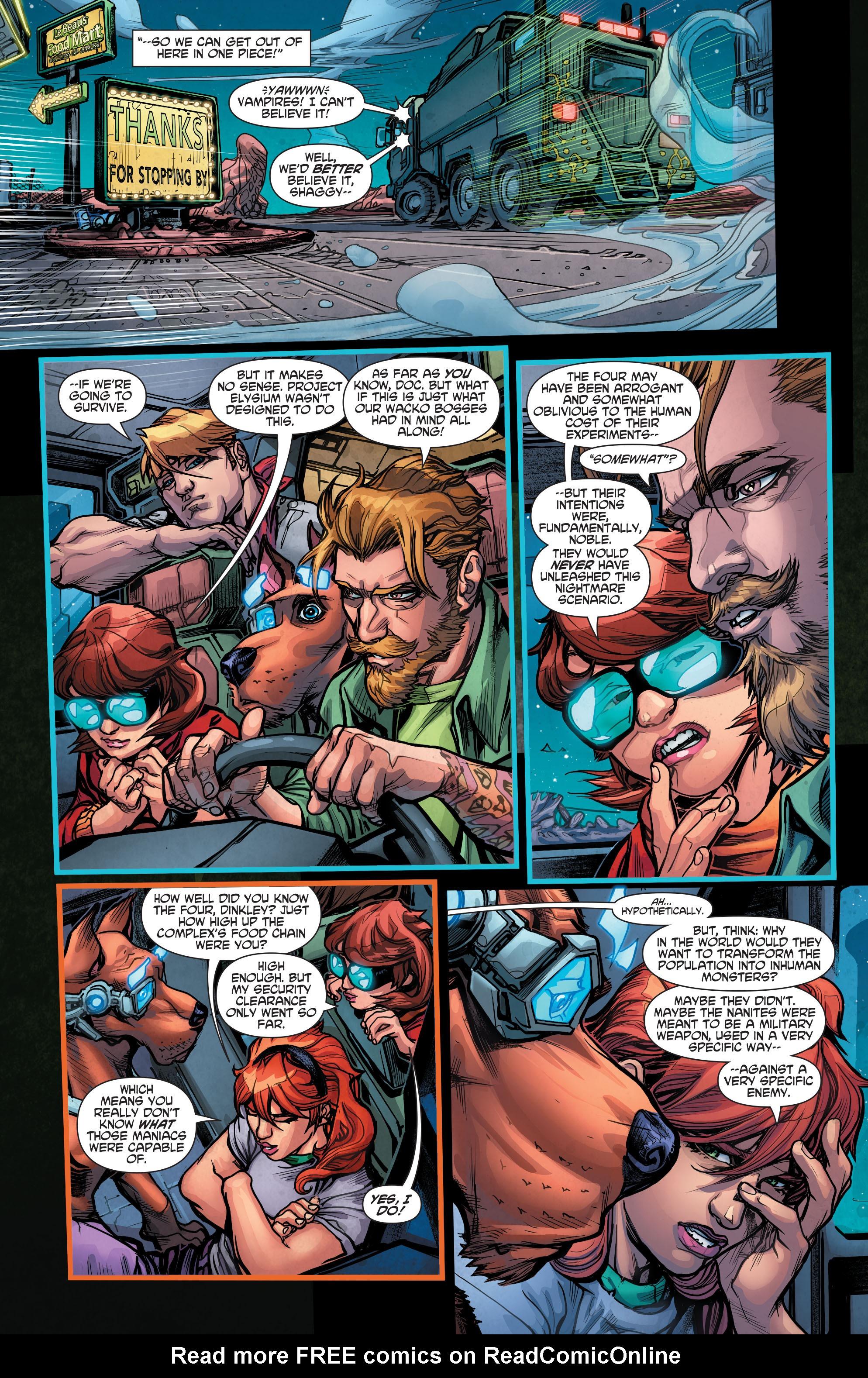 Read online Scooby Apocalypse comic -  Issue #4 - 14