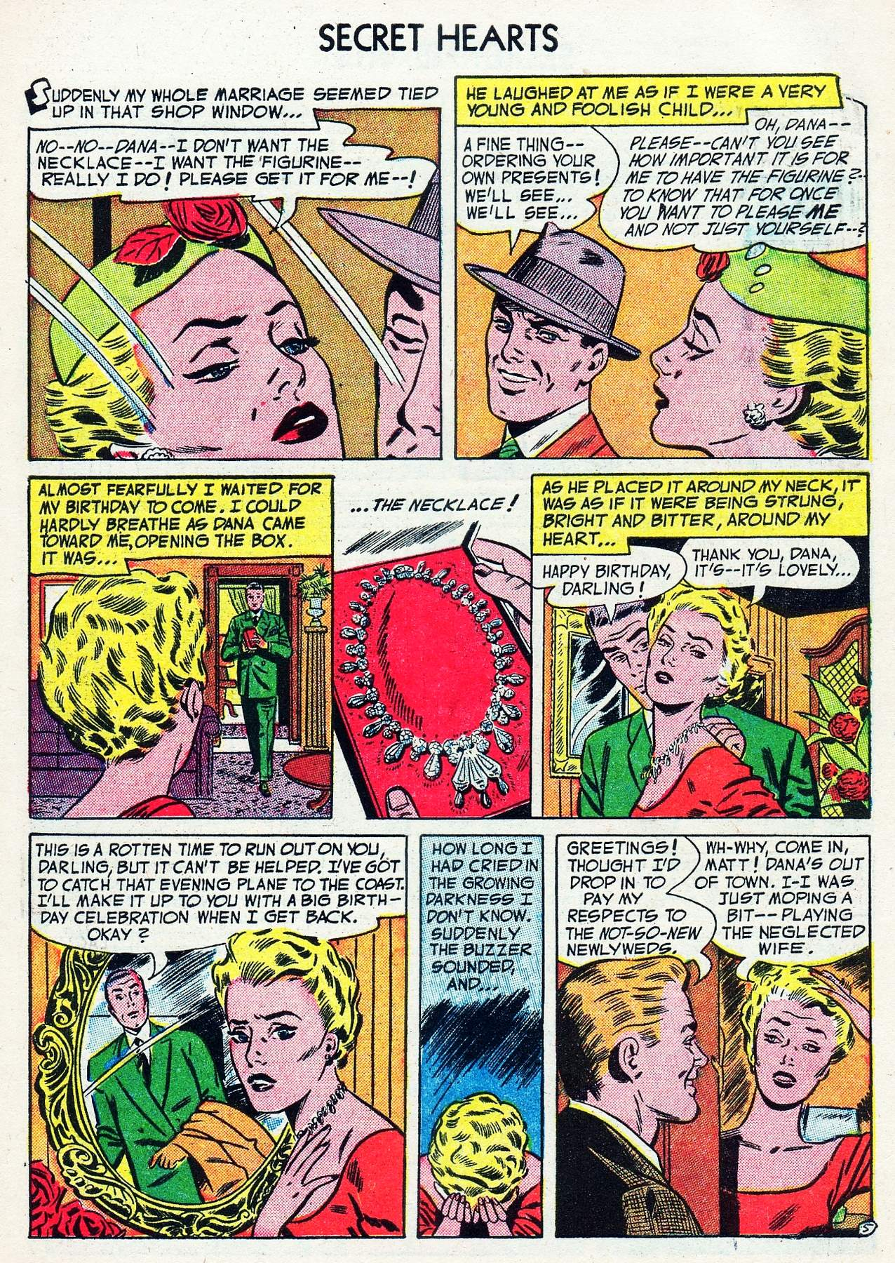 Read online Secret Hearts comic -  Issue #16 - 7