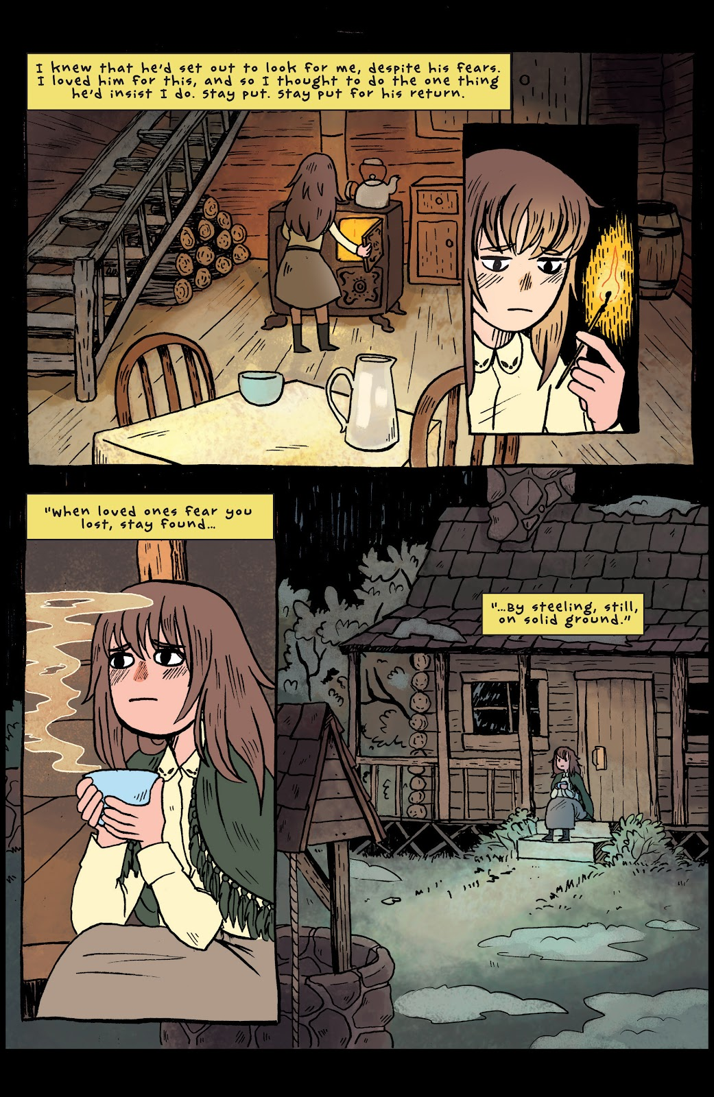 Over the Garden Wall (2016) Issue #1 #1 - English 13
