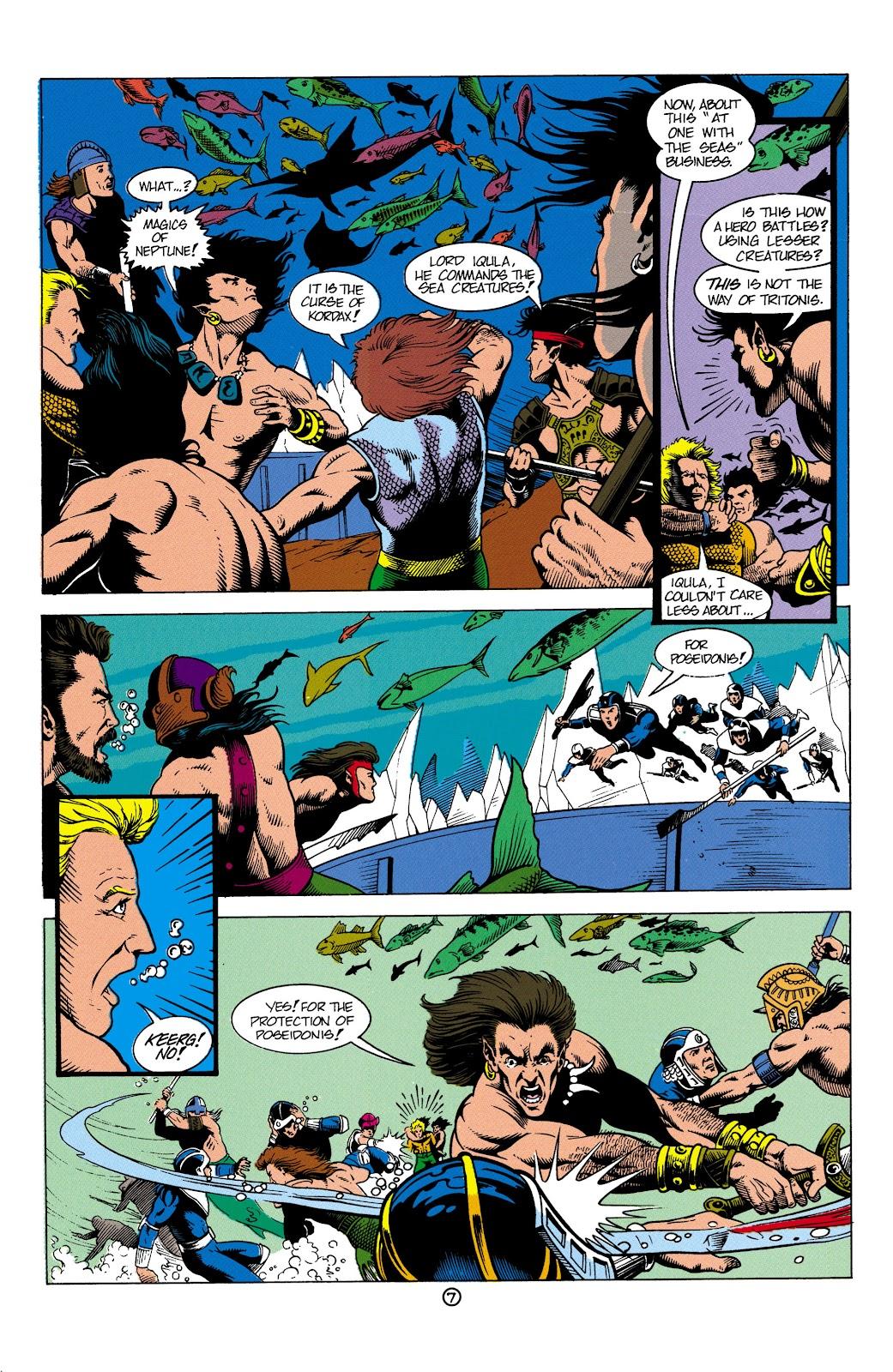 Aquaman (1991) Issue #4 #4 - English 8