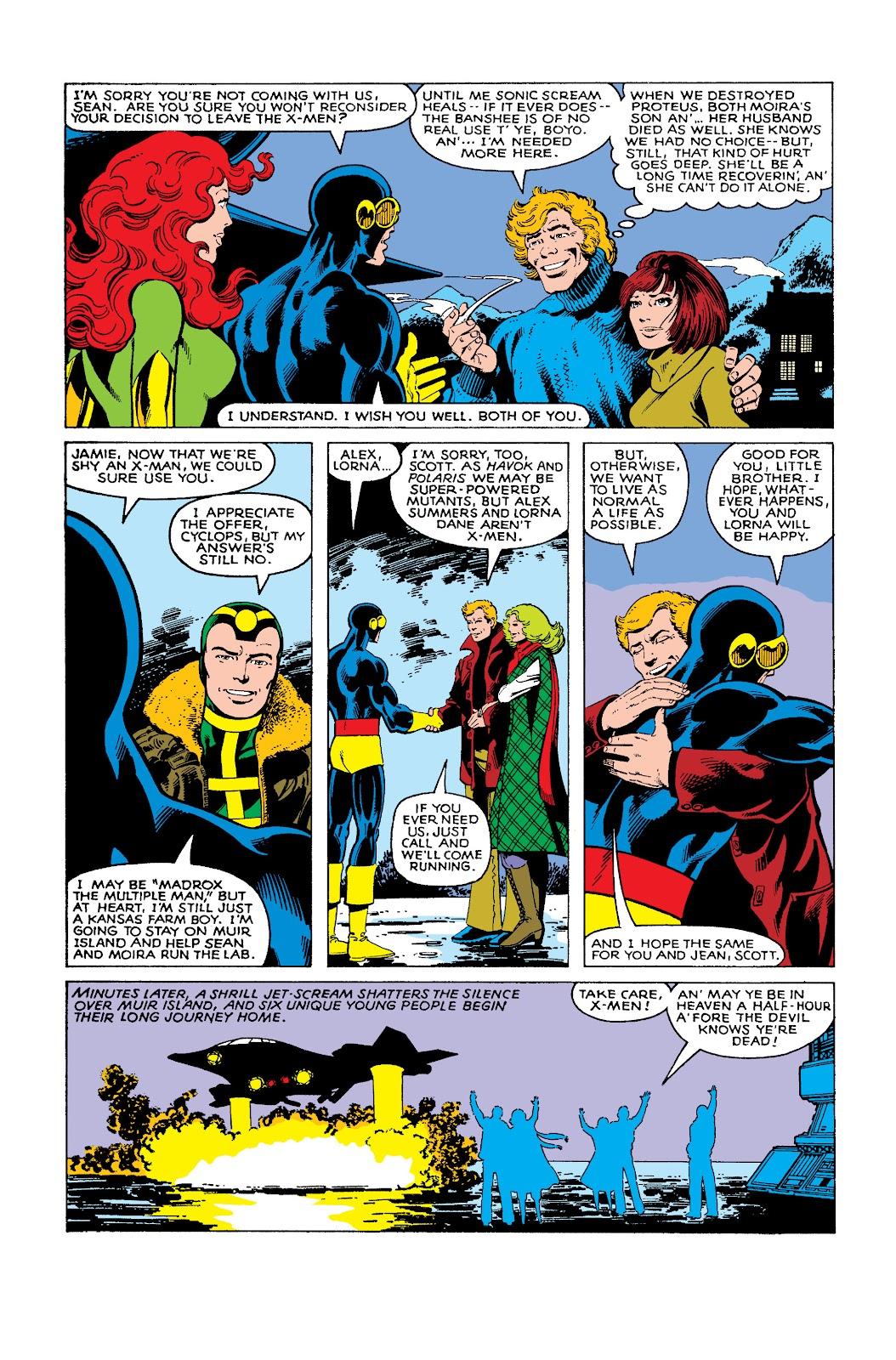 Read online X-Men: The Dark Phoenix Saga comic - Issue # TPB