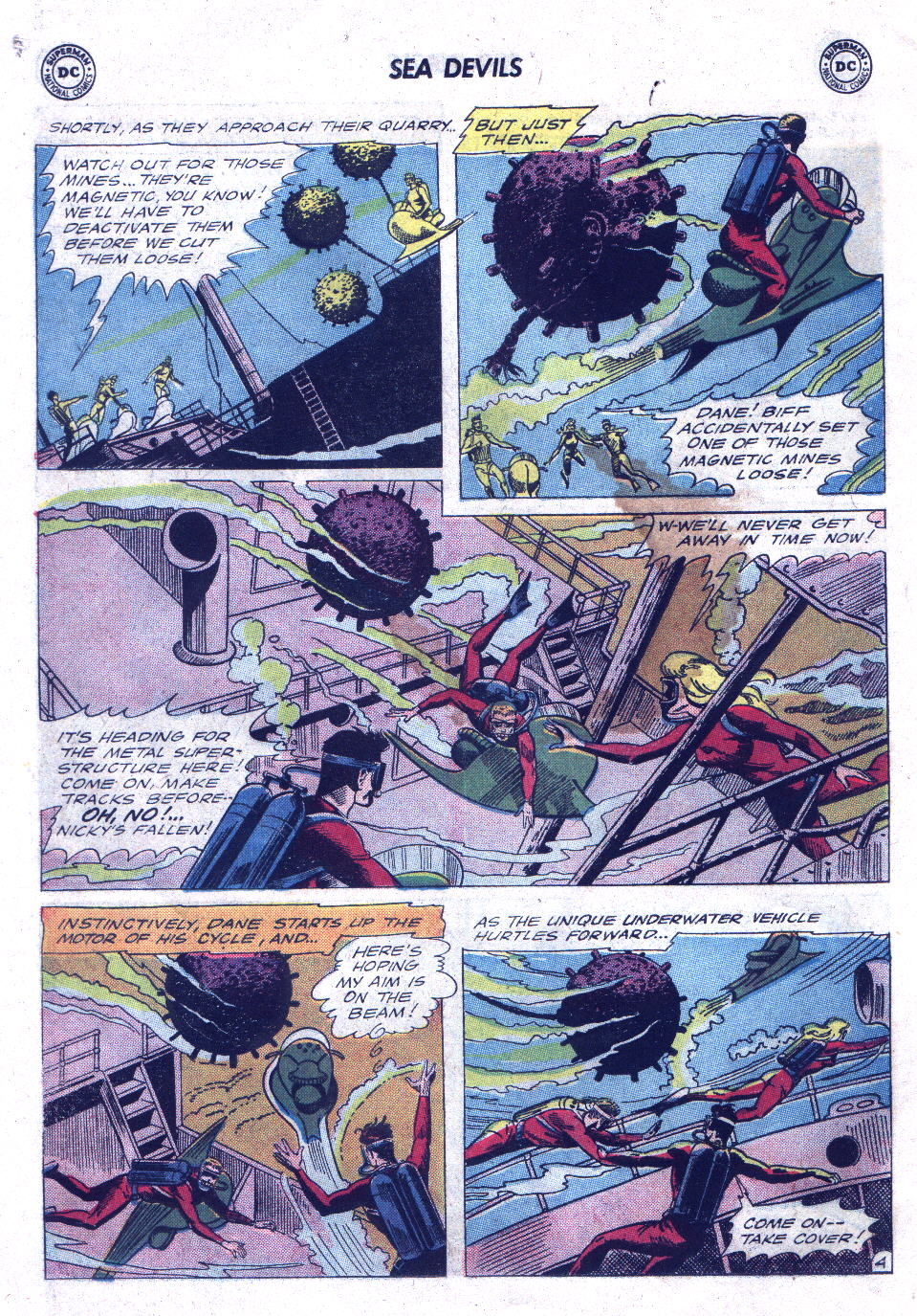 Read online Sea Devils comic -  Issue #21 - 6
