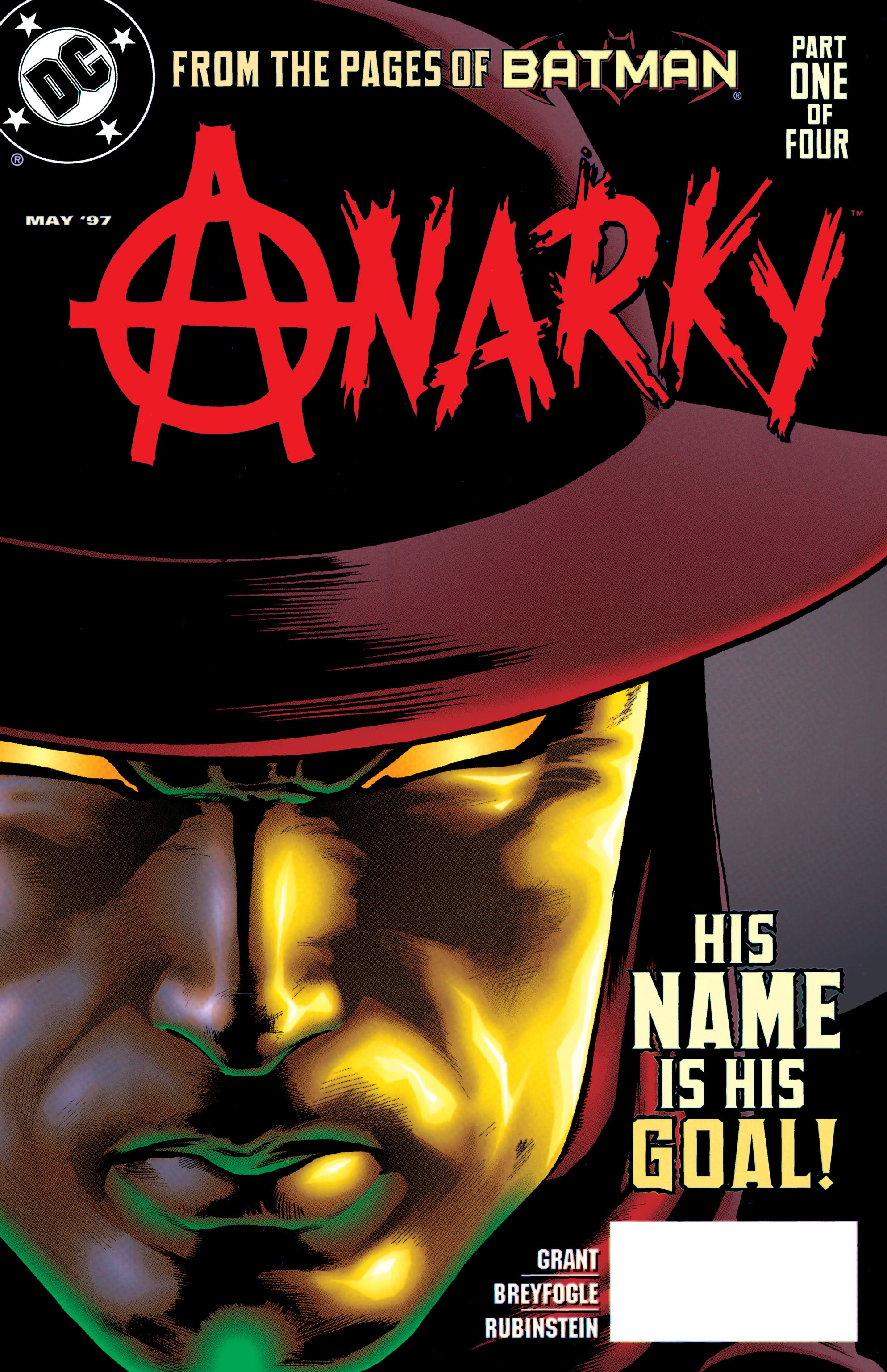 Read online Anarky (1997) comic -  Issue #1 - 1