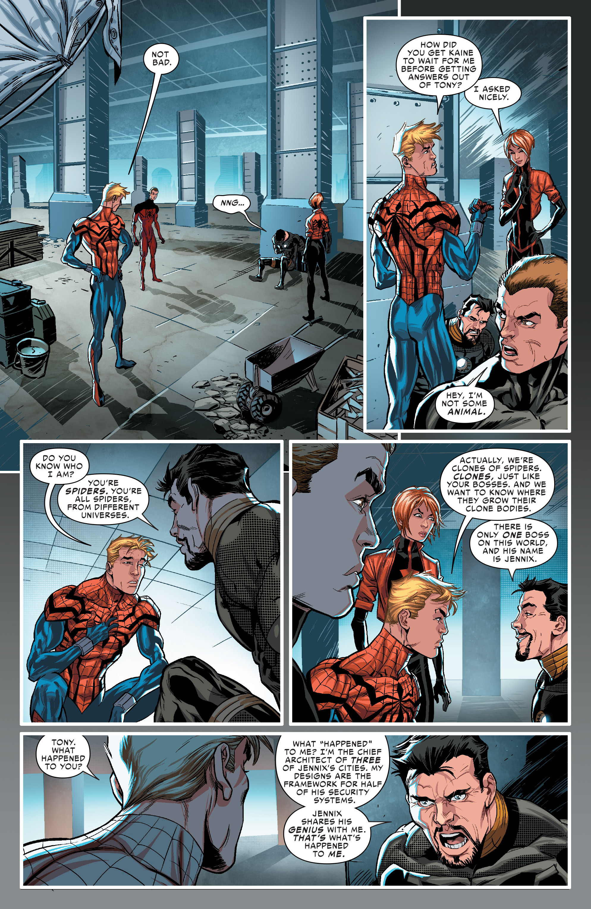 Read online Scarlet Spiders comic -  Issue #1 - 14