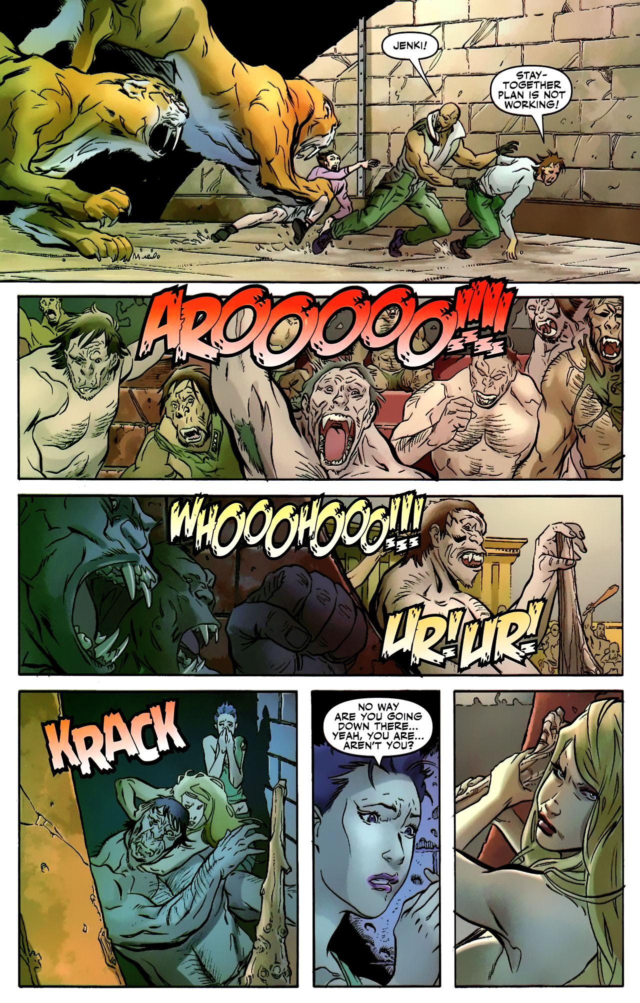 Read online Shanna the She-Devil: Survival of the Fittest comic -  Issue #2 - 22