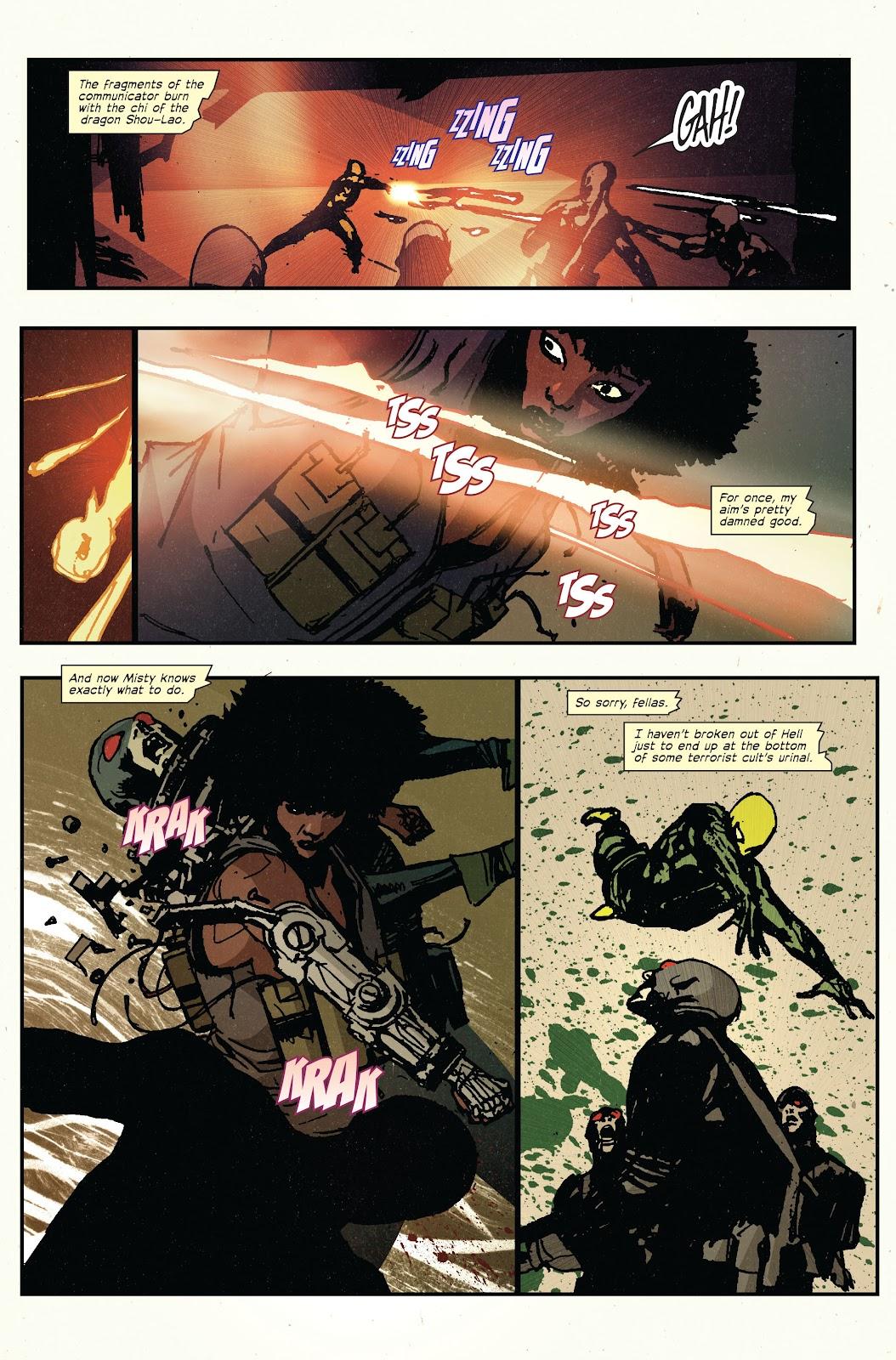 The Immortal Iron Fist Issue #27 #28 - English 15