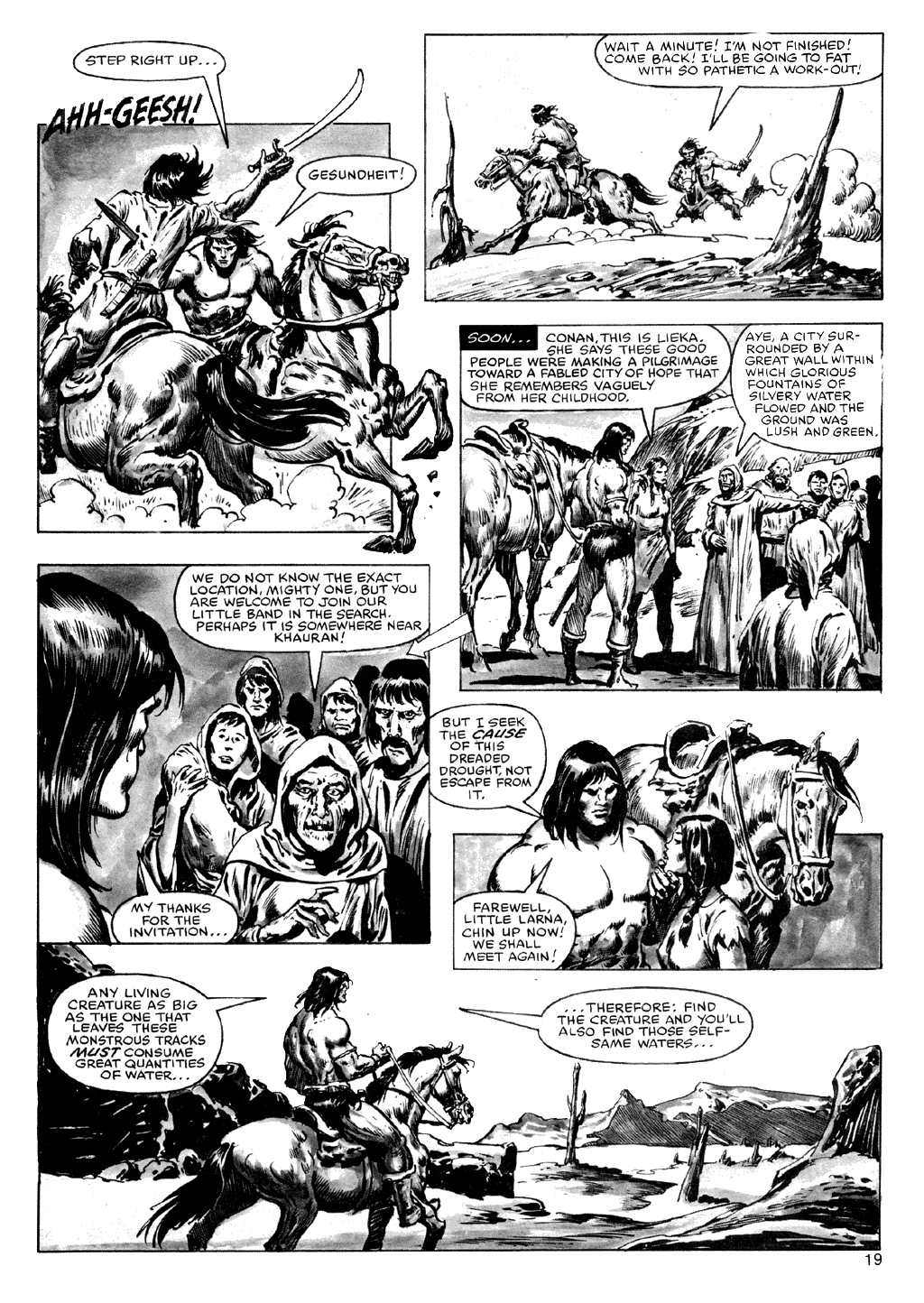 The Savage Sword Of Conan Issue #72 #73 - English 19
