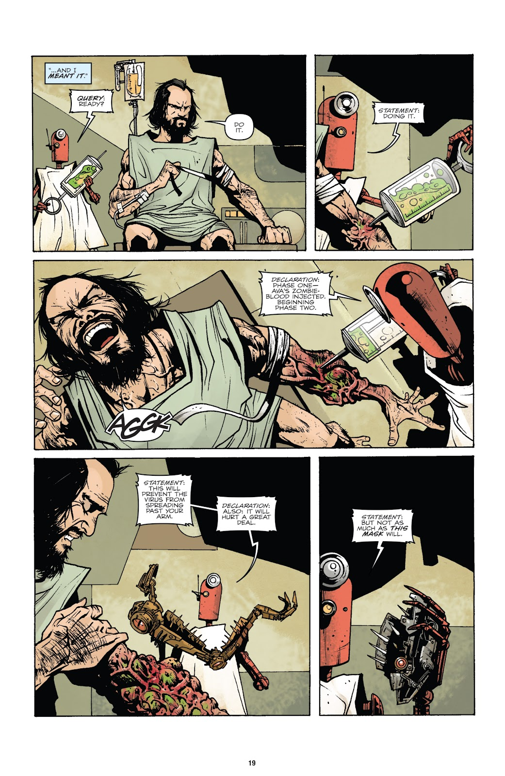 Zombies vs Robots (2015) Issue #7 Page 20