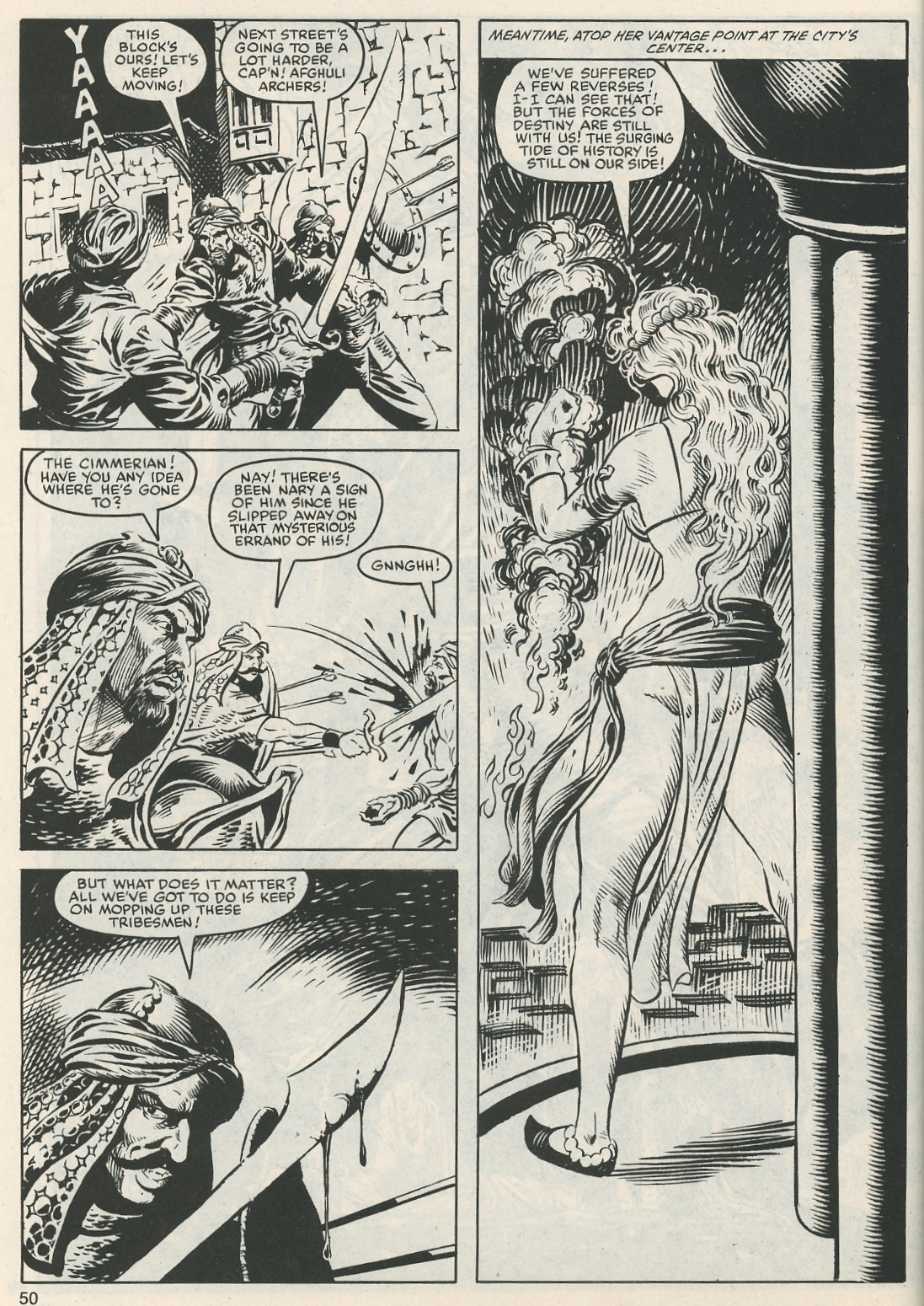 The Savage Sword Of Conan Issue #112 #113 - English 52