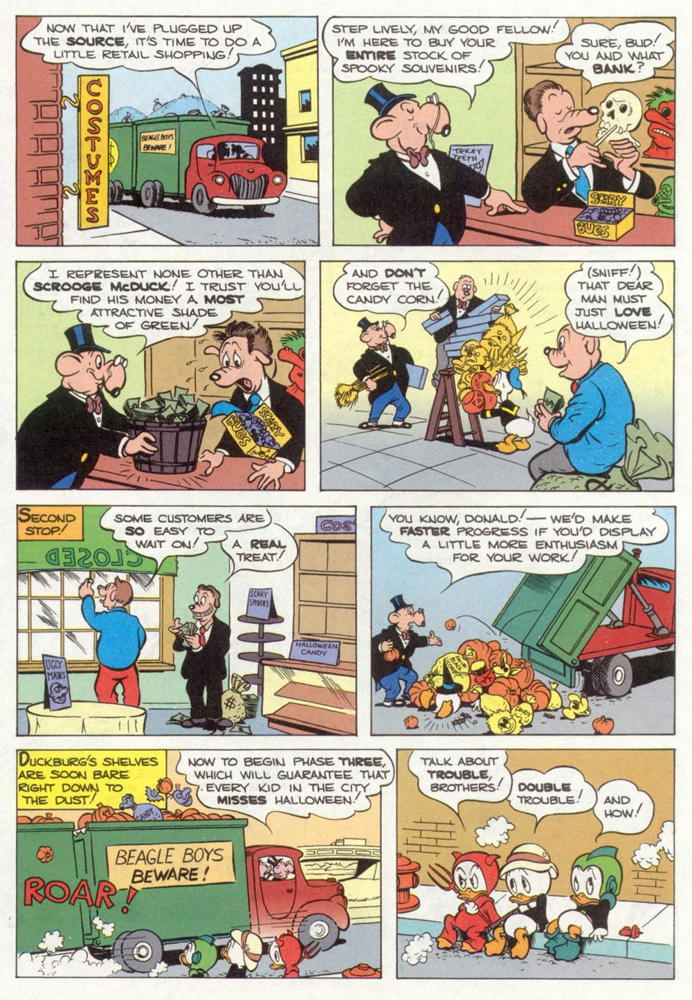 Walt Disney's Donald Duck Adventures (1987) Issue #35 #35 - English 12
