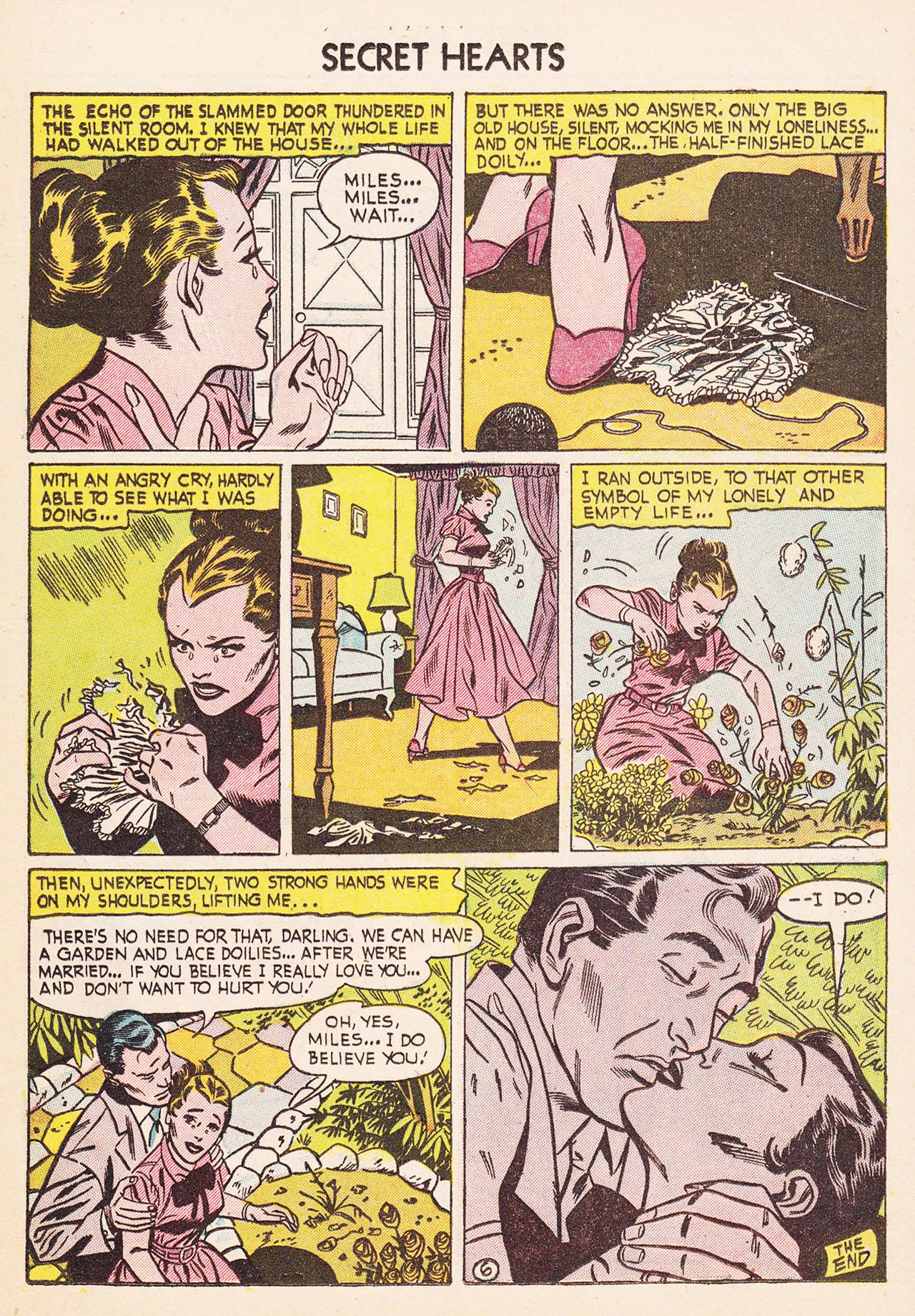 Read online Secret Hearts comic -  Issue #24 - 23