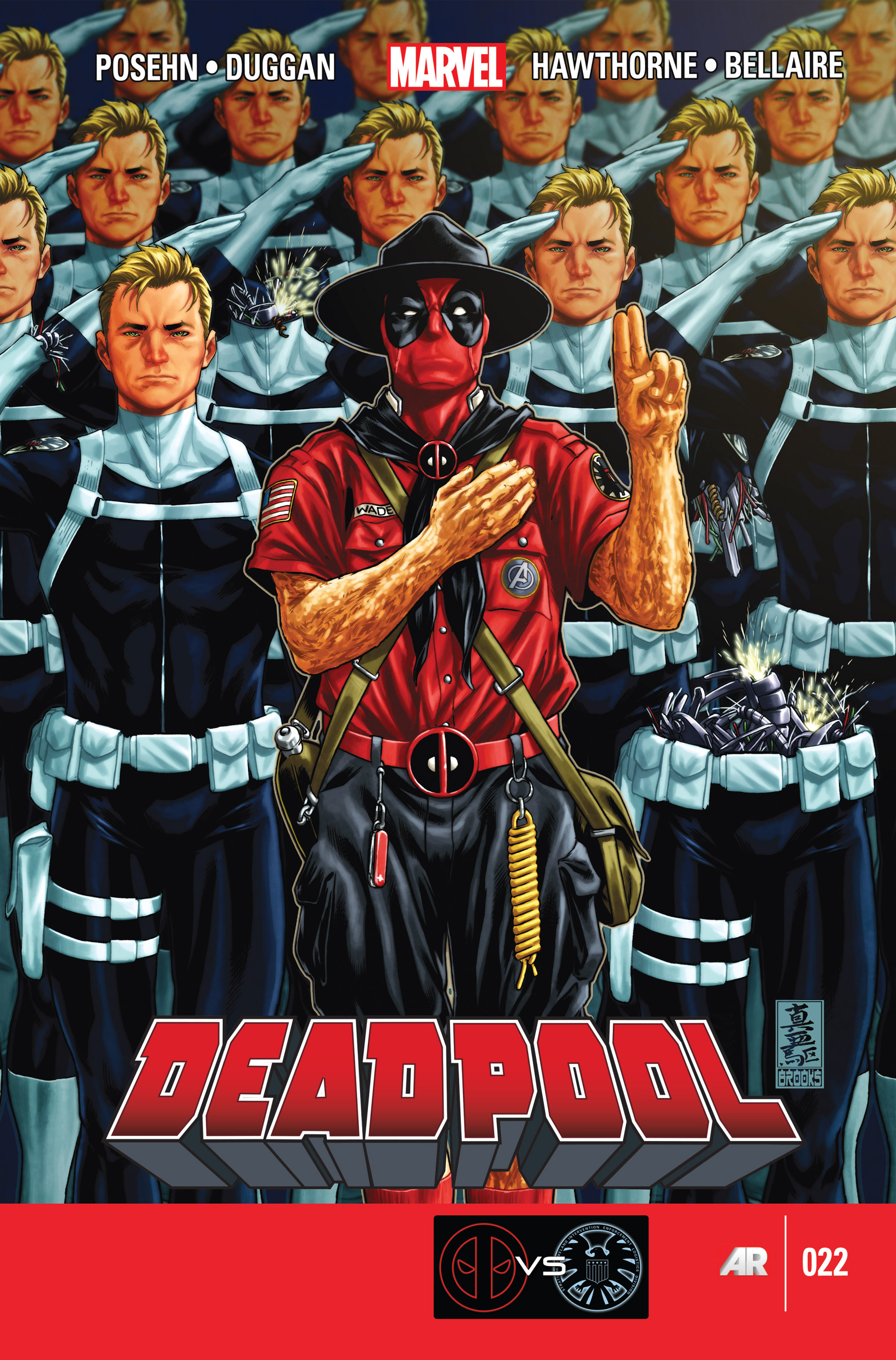 Deadpool (2013) issue 22 - Page 1