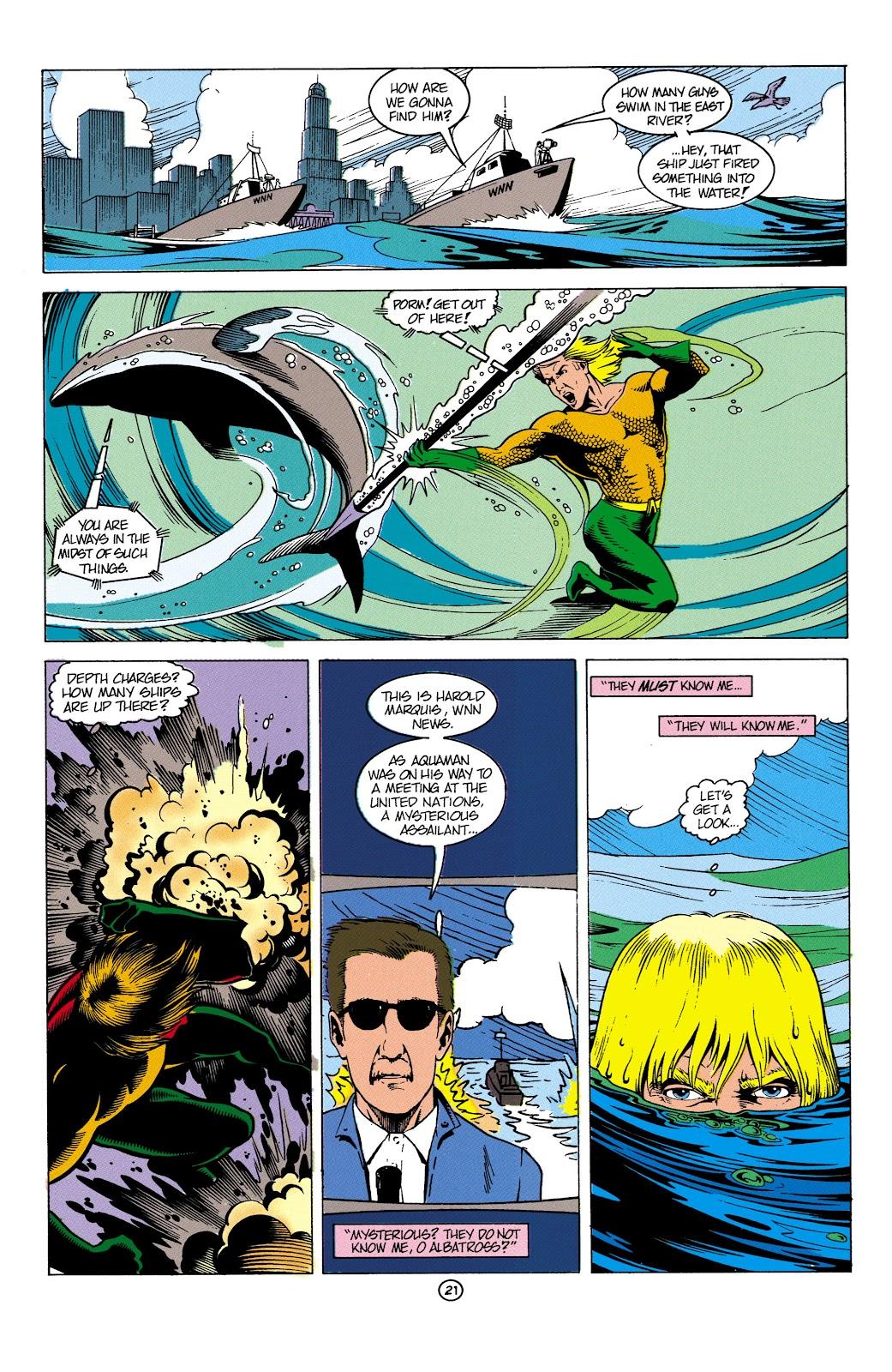 Aquaman (1991) Issue #4 #4 - English 22
