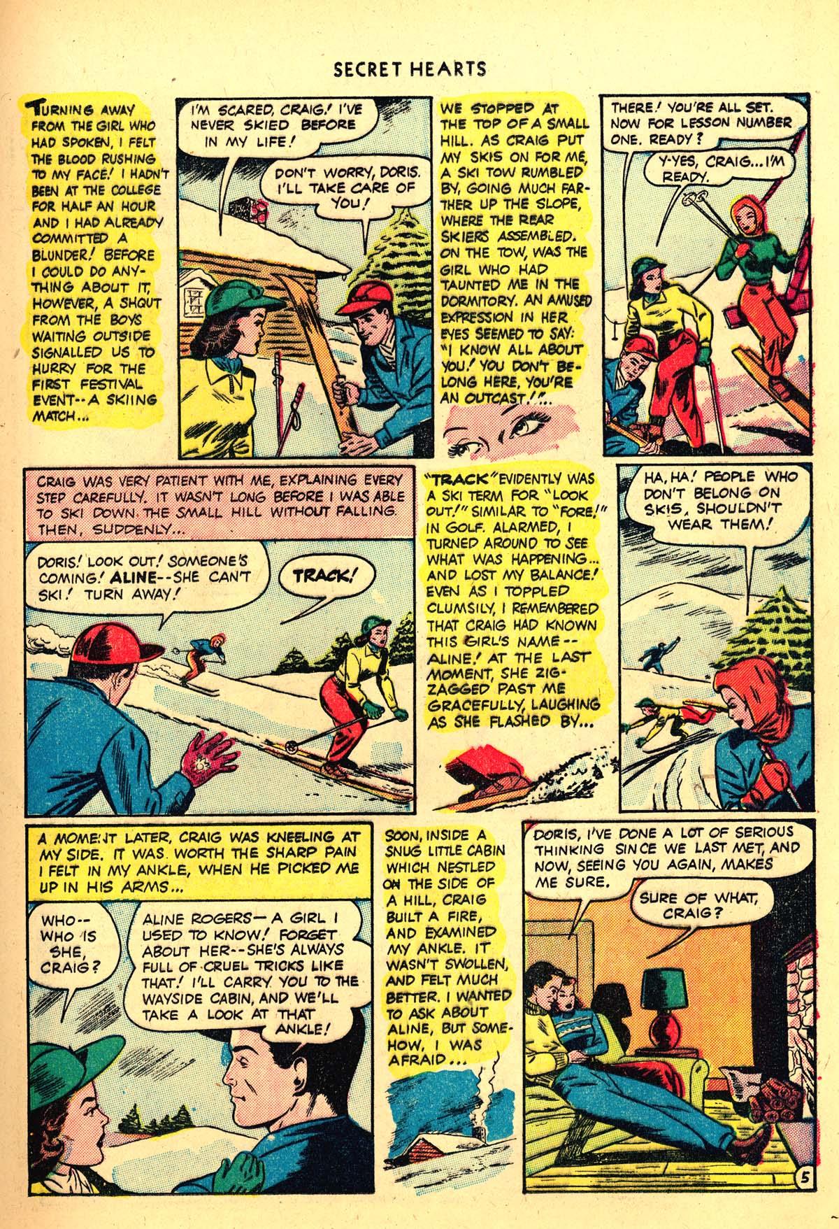 Read online Secret Hearts comic -  Issue #4 - 25
