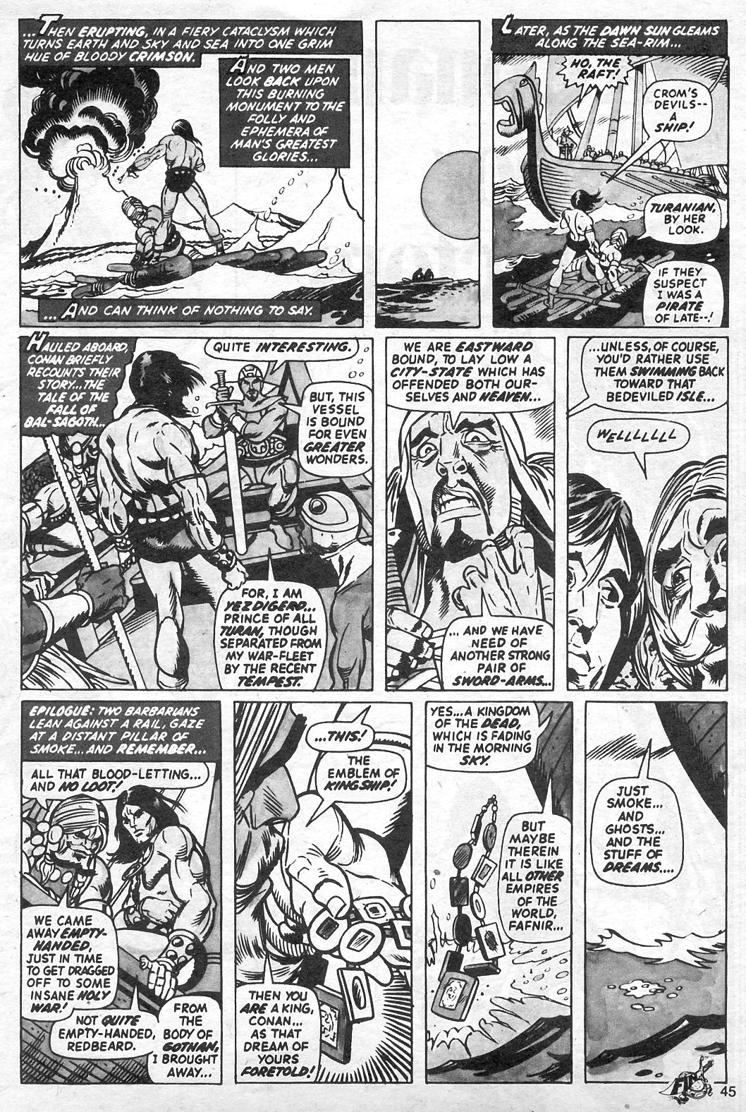 The Savage Sword Of Conan Issue #13 #14 - English 45