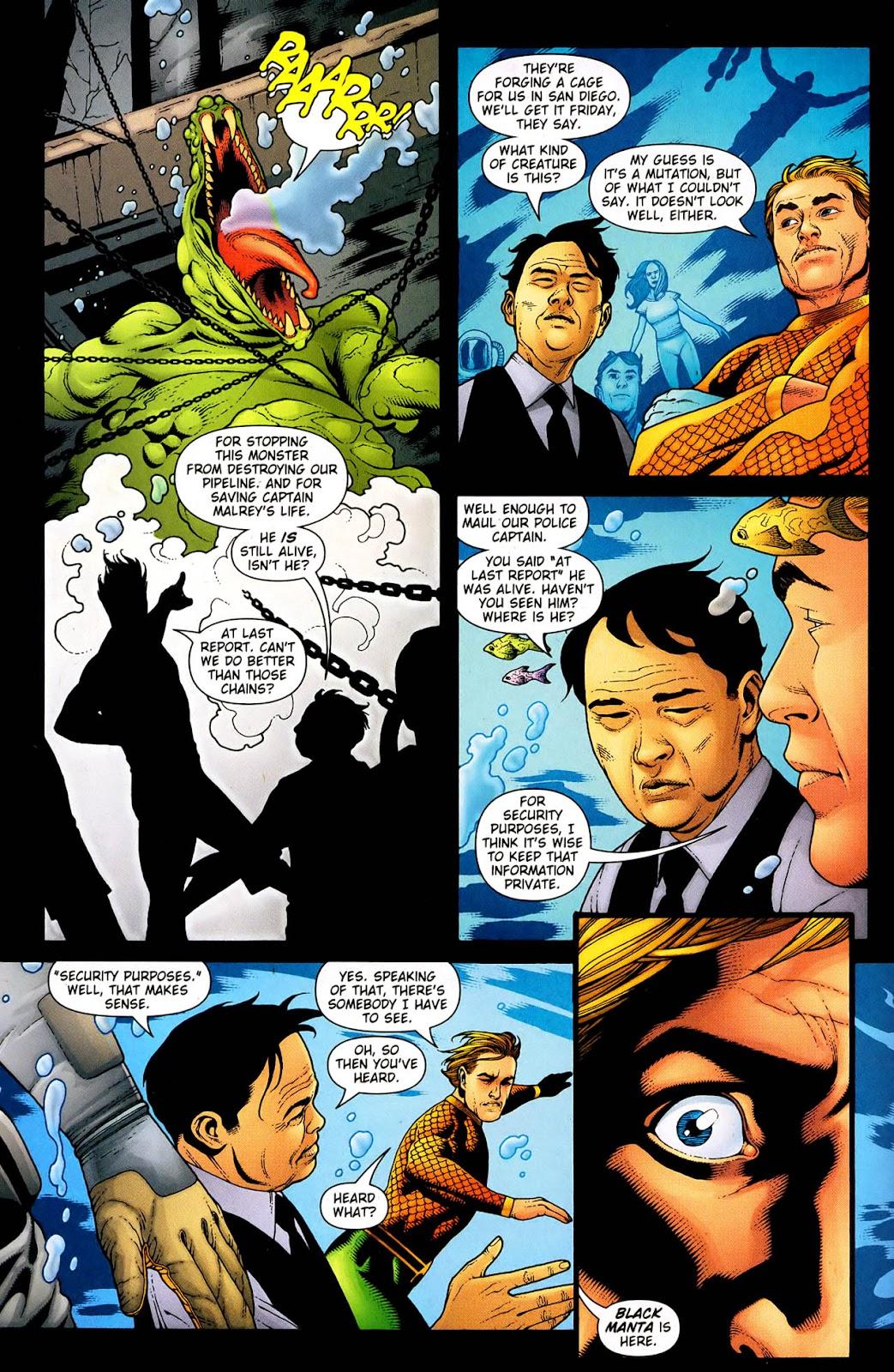 Aquaman (2003) Issue #33 #33 - English 7
