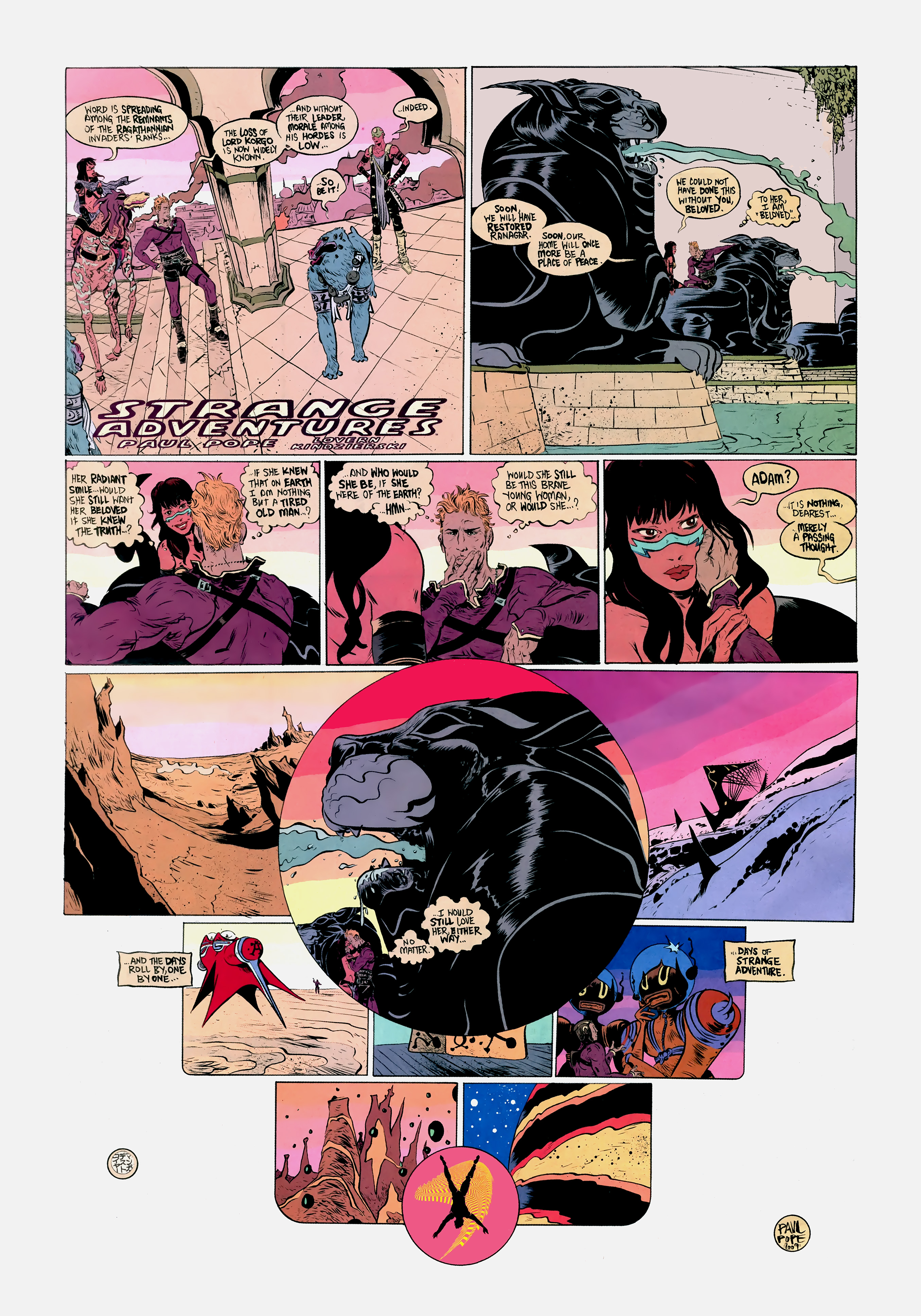 Read online Wednesday Comics comic -  Issue #12 - 9