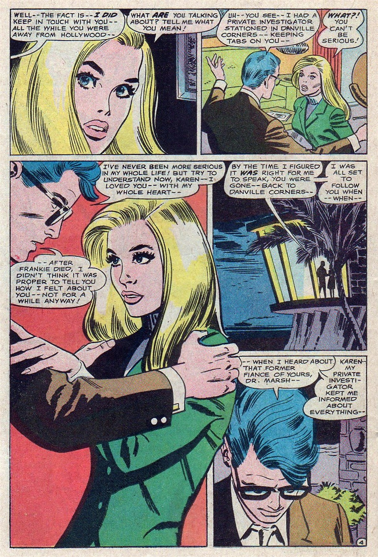 Read online Secret Hearts comic -  Issue #129 - 22