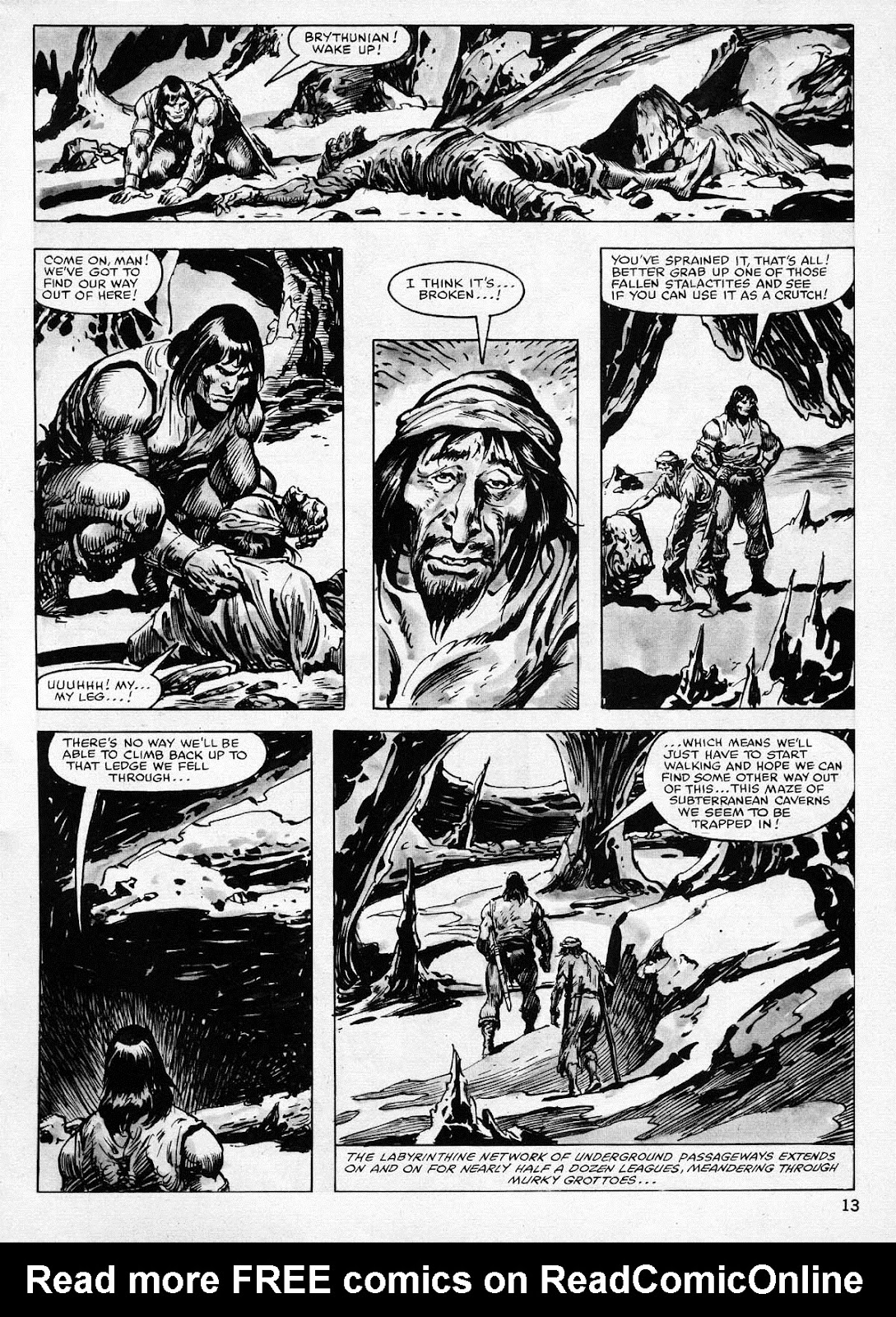 The Savage Sword Of Conan Issue #77 #78 - English 13