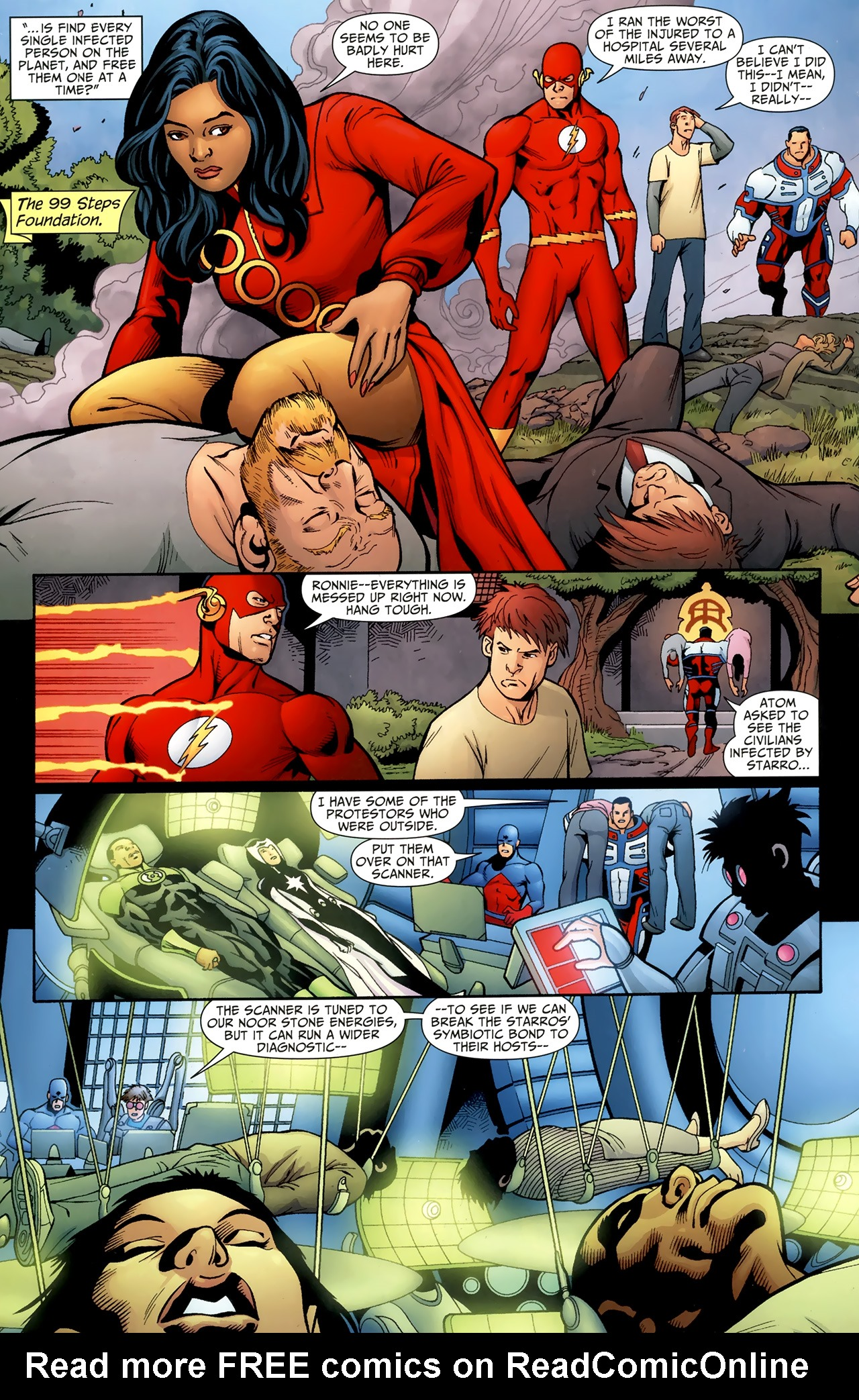 Read online Justice League of America/The 99 comic -  Issue #4 - 17