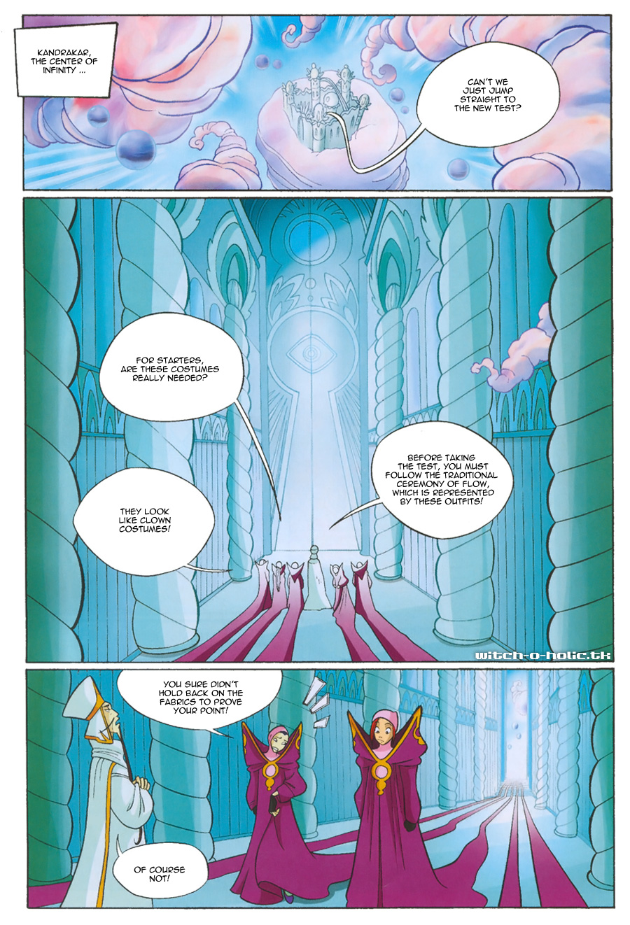 Read online W.i.t.c.h. comic -  Issue #135 - 1
