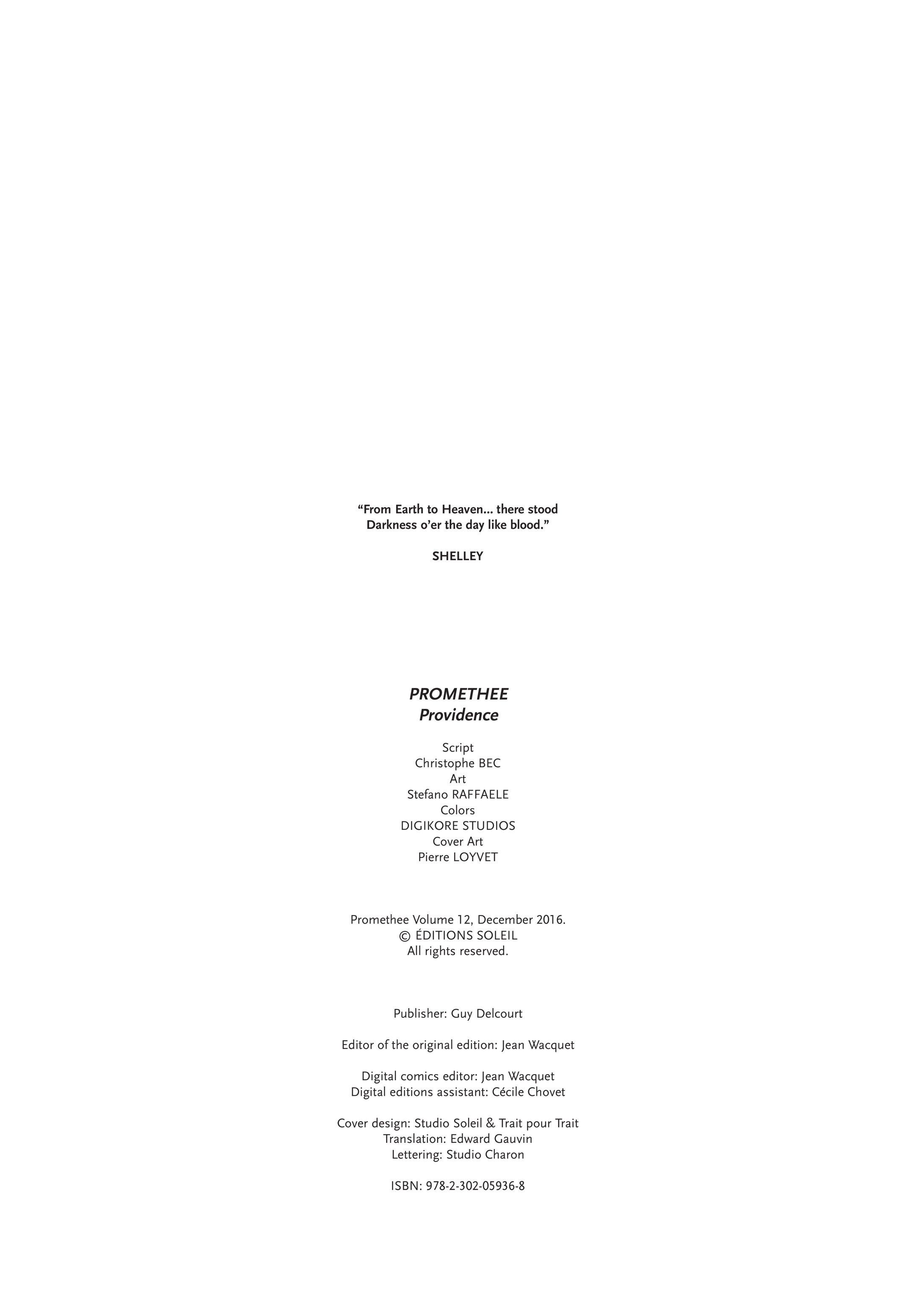 Promethee #12 #8 - English 2