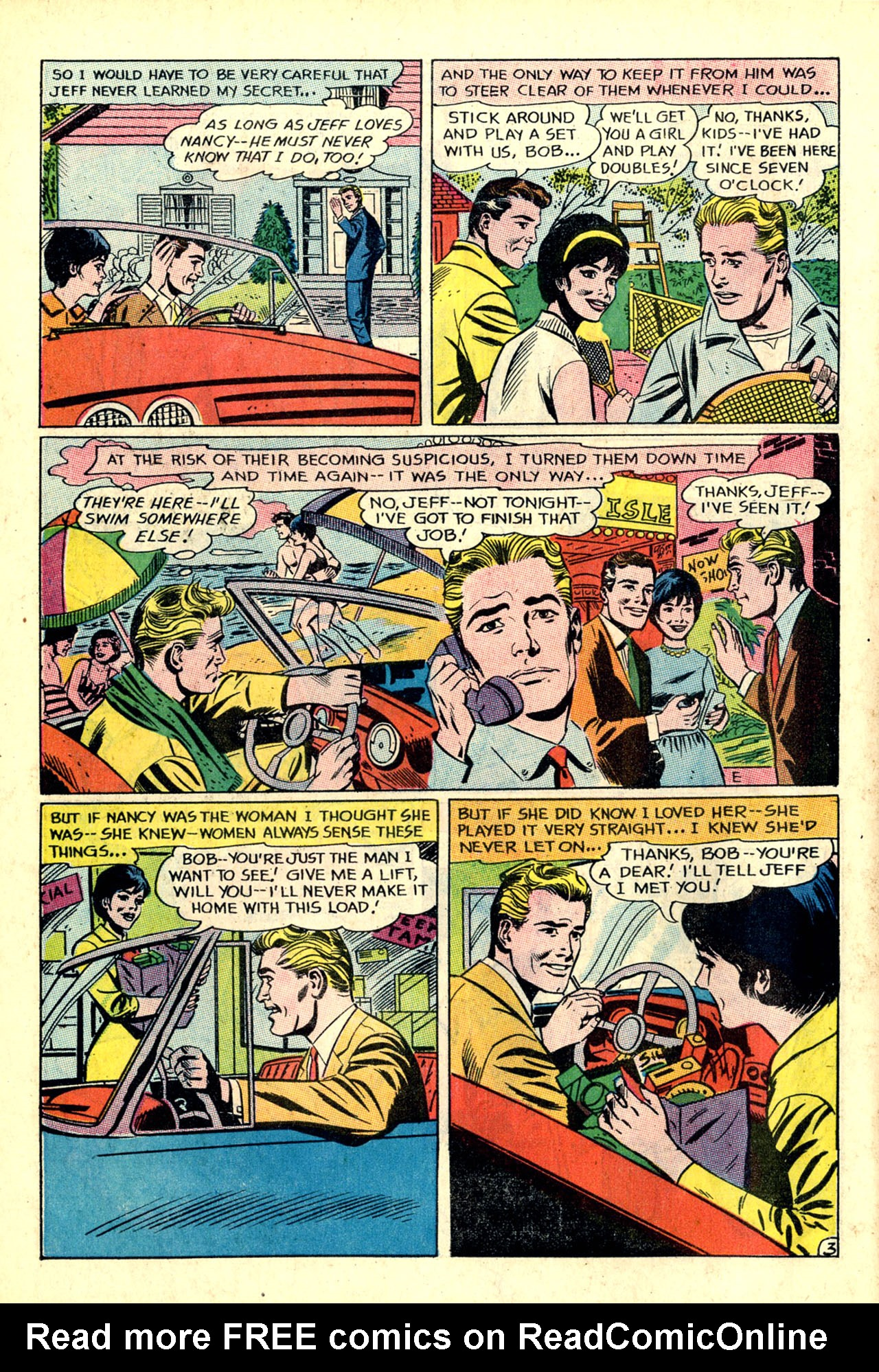 Read online Secret Hearts comic -  Issue #132 - 45