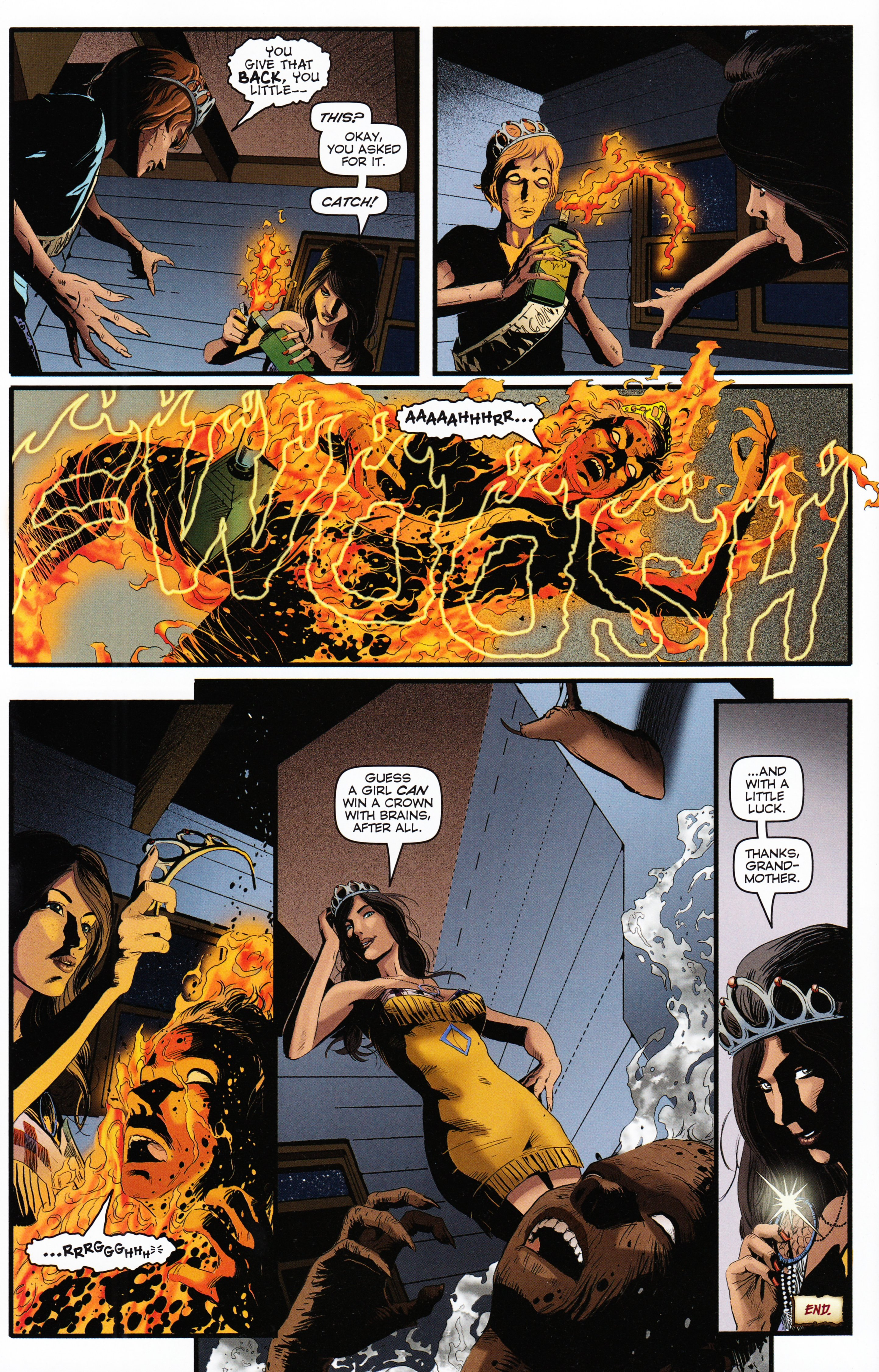 Read online Evil Dead 2: Tales of the Ex-Mortis comic -  Issue #2 - 38