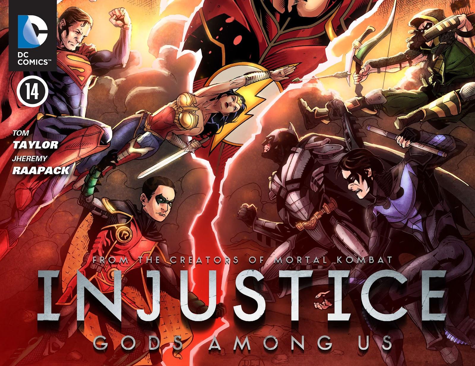 Injustice: Gods Among Us [I] Issue #14 #15 - English 1
