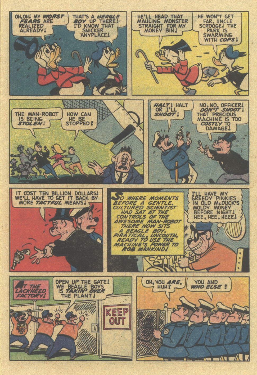 Uncle Scrooge (1953) Issue #185 #185 - English 9
