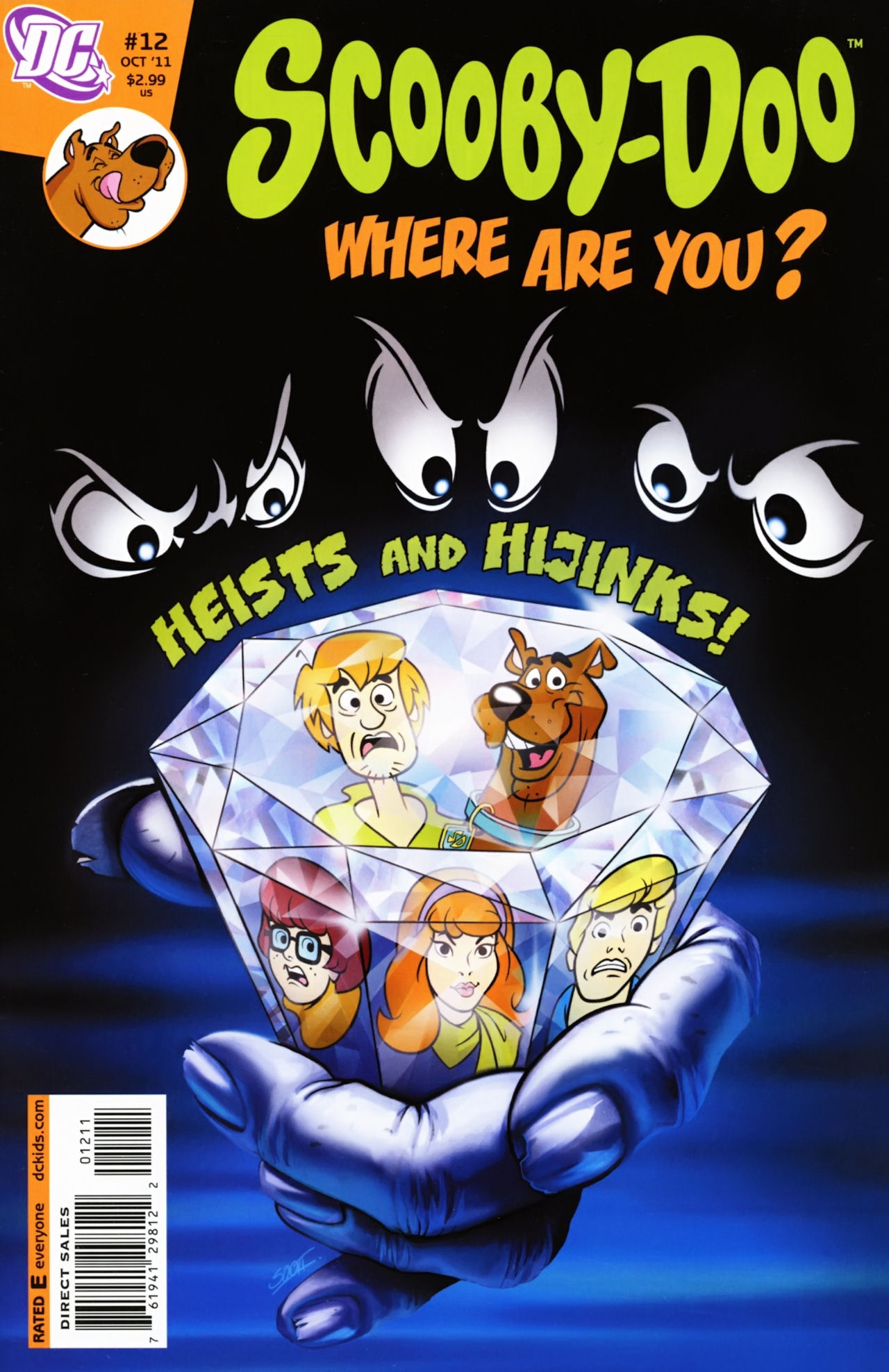Read online Scooby-Doo: Where Are You? comic -  Issue #12 - 1