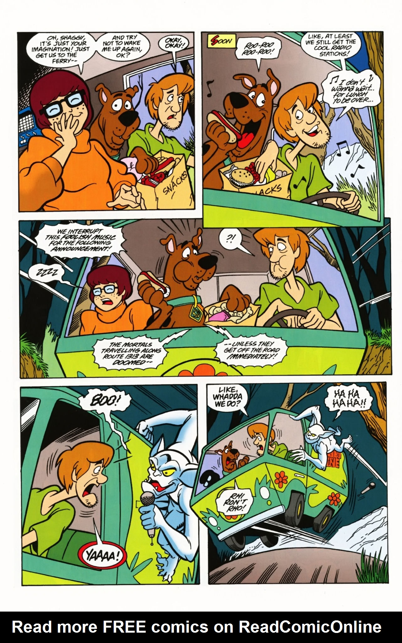Read online Scooby-Doo: Where Are You? comic -  Issue #3 - 6