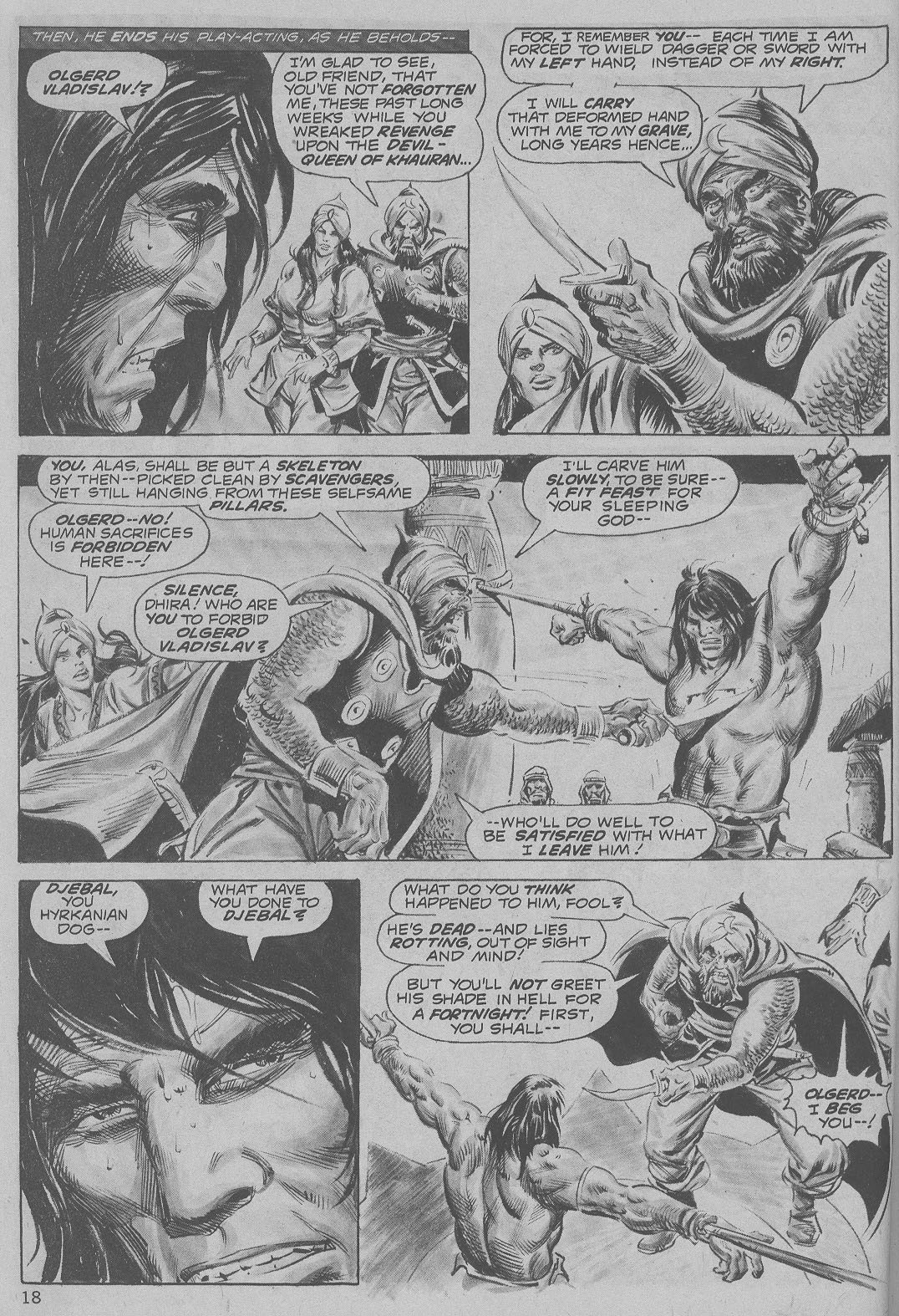 The Savage Sword Of Conan Issue #6 #7 - English 18